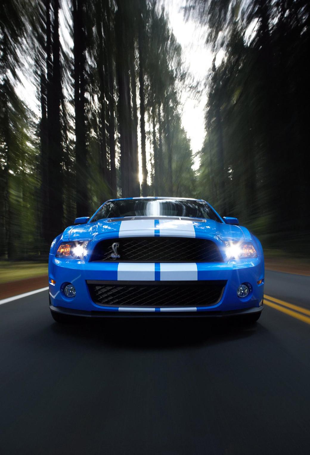 Mustang 3Wallpapers iPhone Parallax Mustang