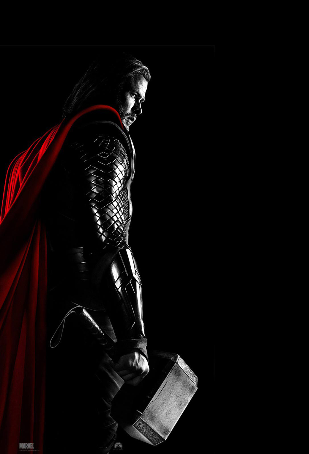 Thor 2 3Wallpapers iphone Parallax Thor 2