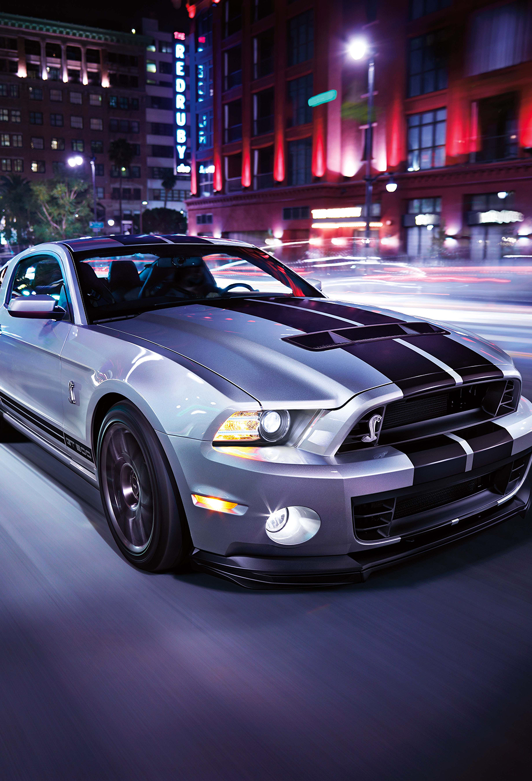 Ford Mustang 3Wallpapers iPhone Parallax Ford Mustang