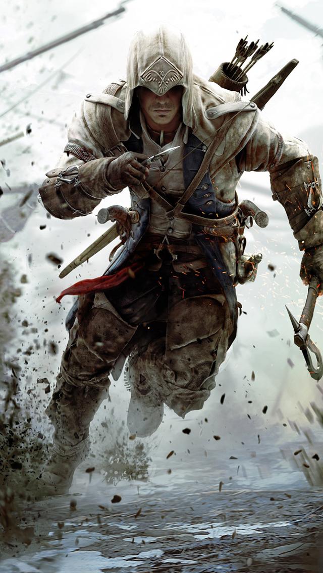 Assassins Creed 3 3Wallpapers iPhone Parallax Assassins Creed 3