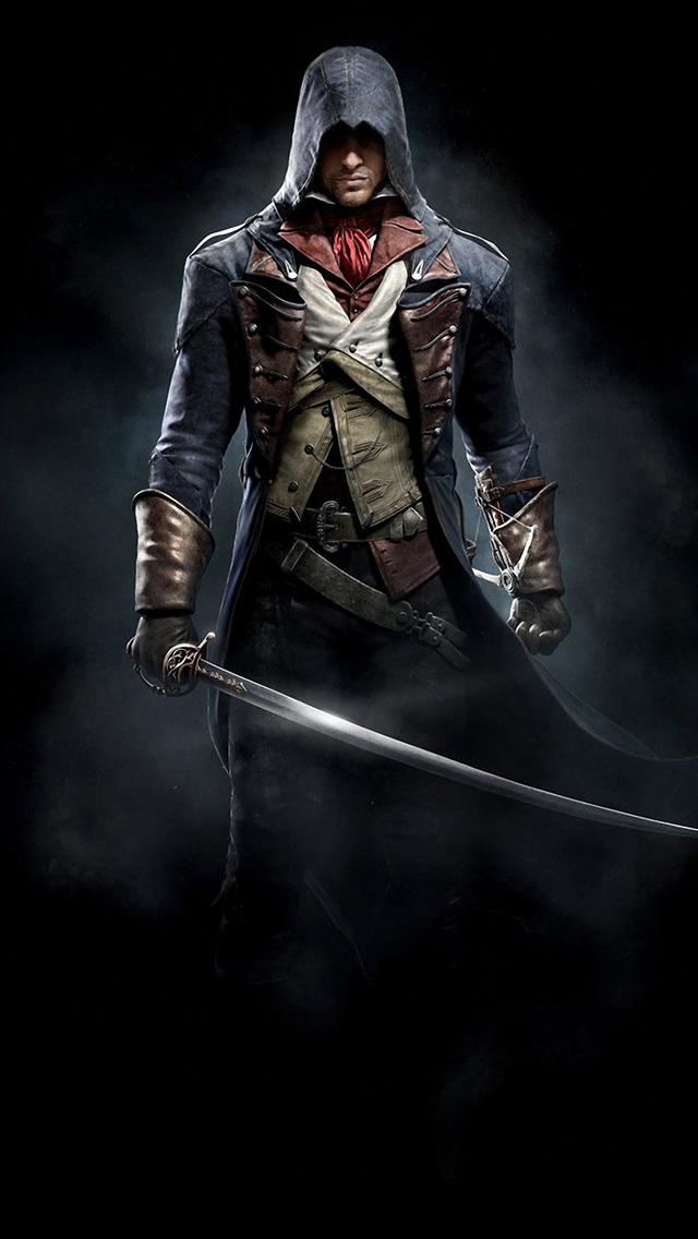 wallpaper hd iphone assassins creed unity free download