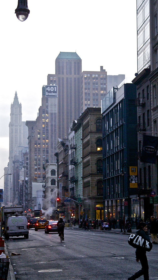 New York Street Wallpaper For Iphone 11 Pro Max X 8 7