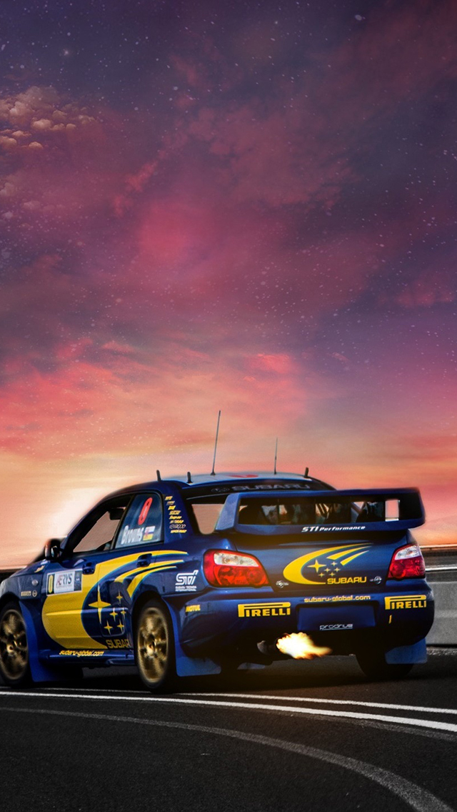 Subaru Road Wallpaper For Iphone X 8 7 6 Free Download On