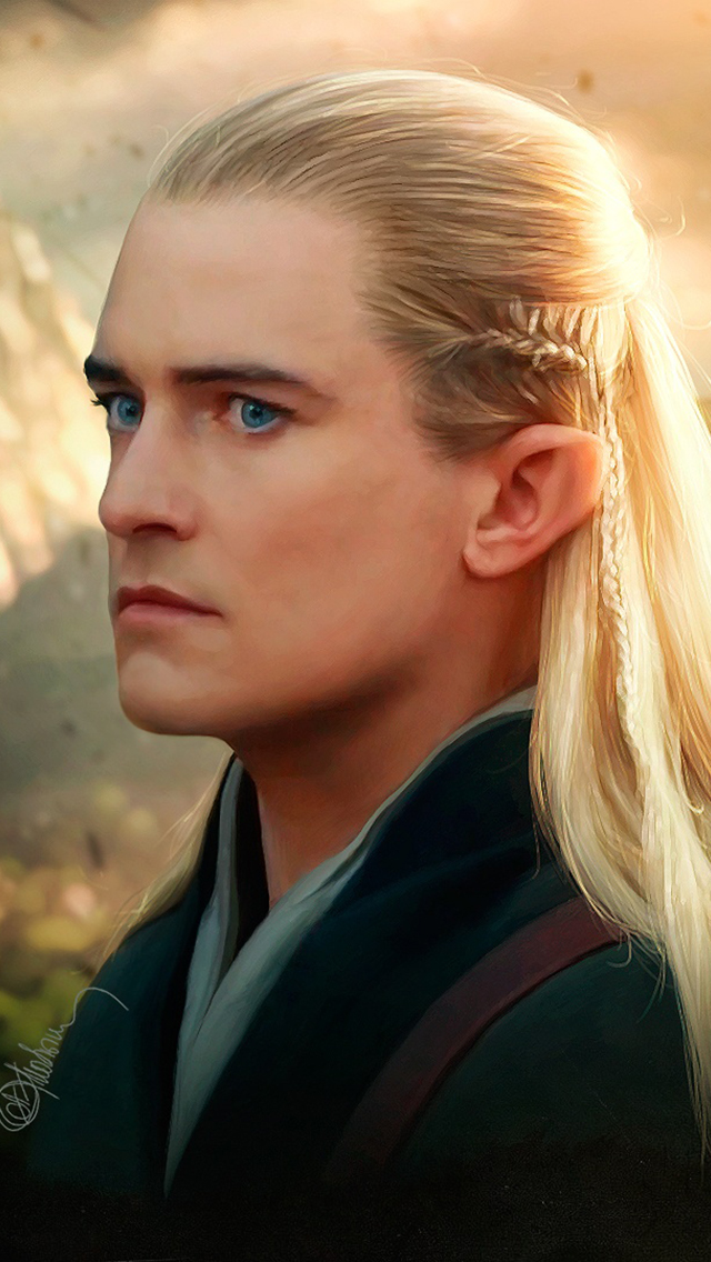 legolas the hobbit 3Wallpapers iPhone Parallax Legolas