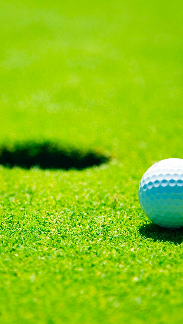 Golf Ball Sport 3Wallpapers iphone Parallax Golf Ball Sport