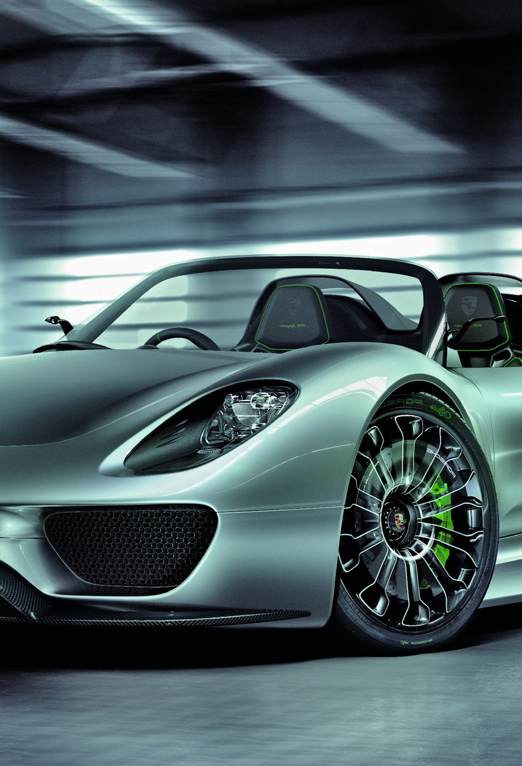 porsche 918 spyder 3wallpapers iphone parallax - Porsche 918 Spyder Wallpaper