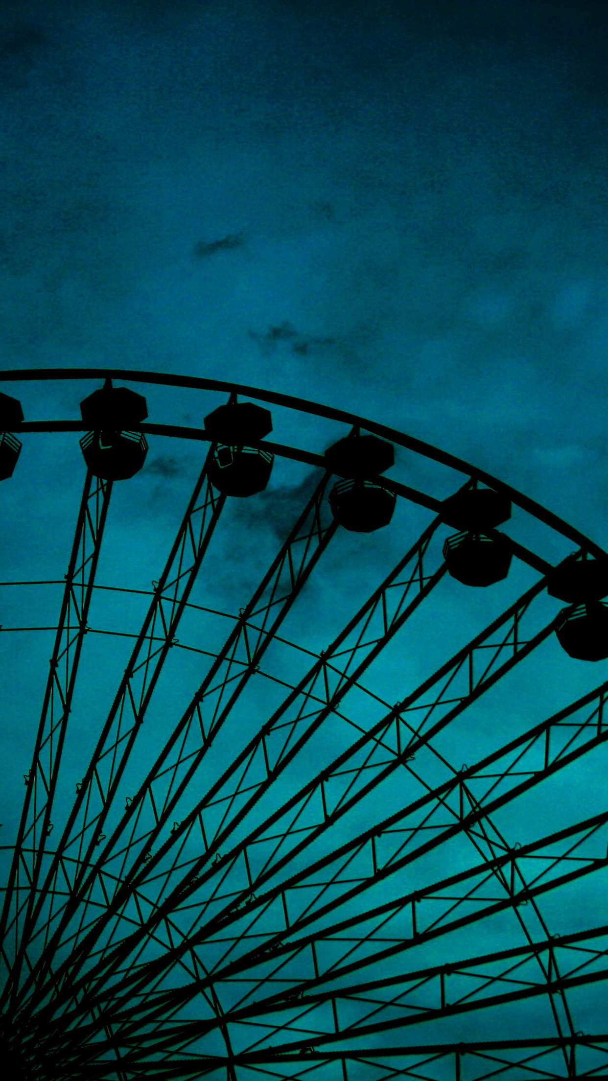 Abandoned Ferris Wheel 3Wallpapers iphone parallax Abandoned Ferris Wheel