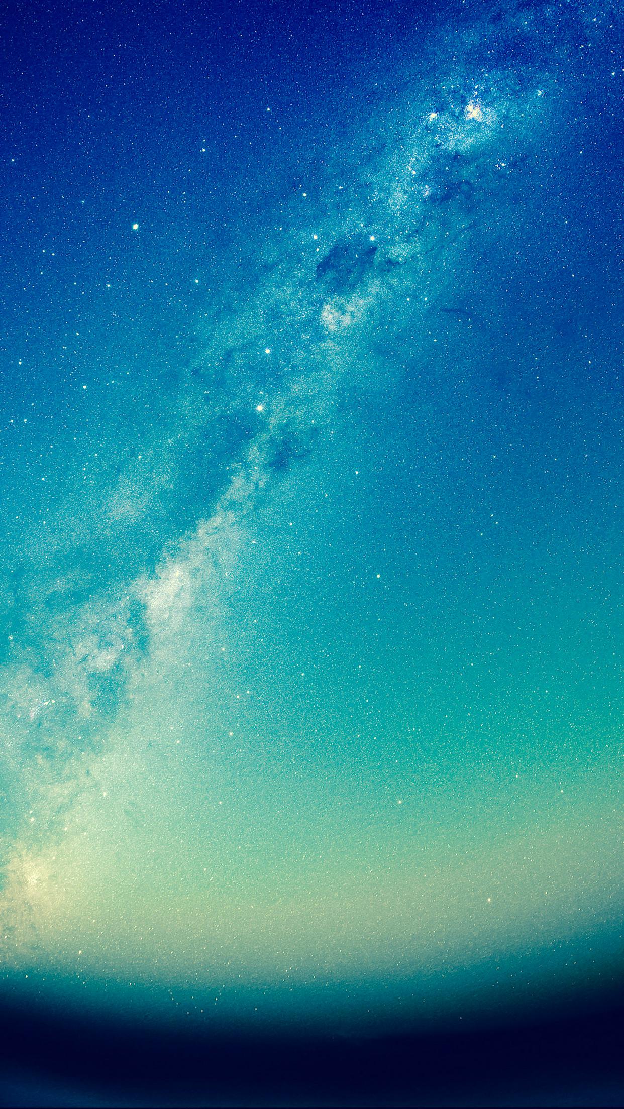 Milky Way 3Wallpapers iPhone Parallax Milky Way