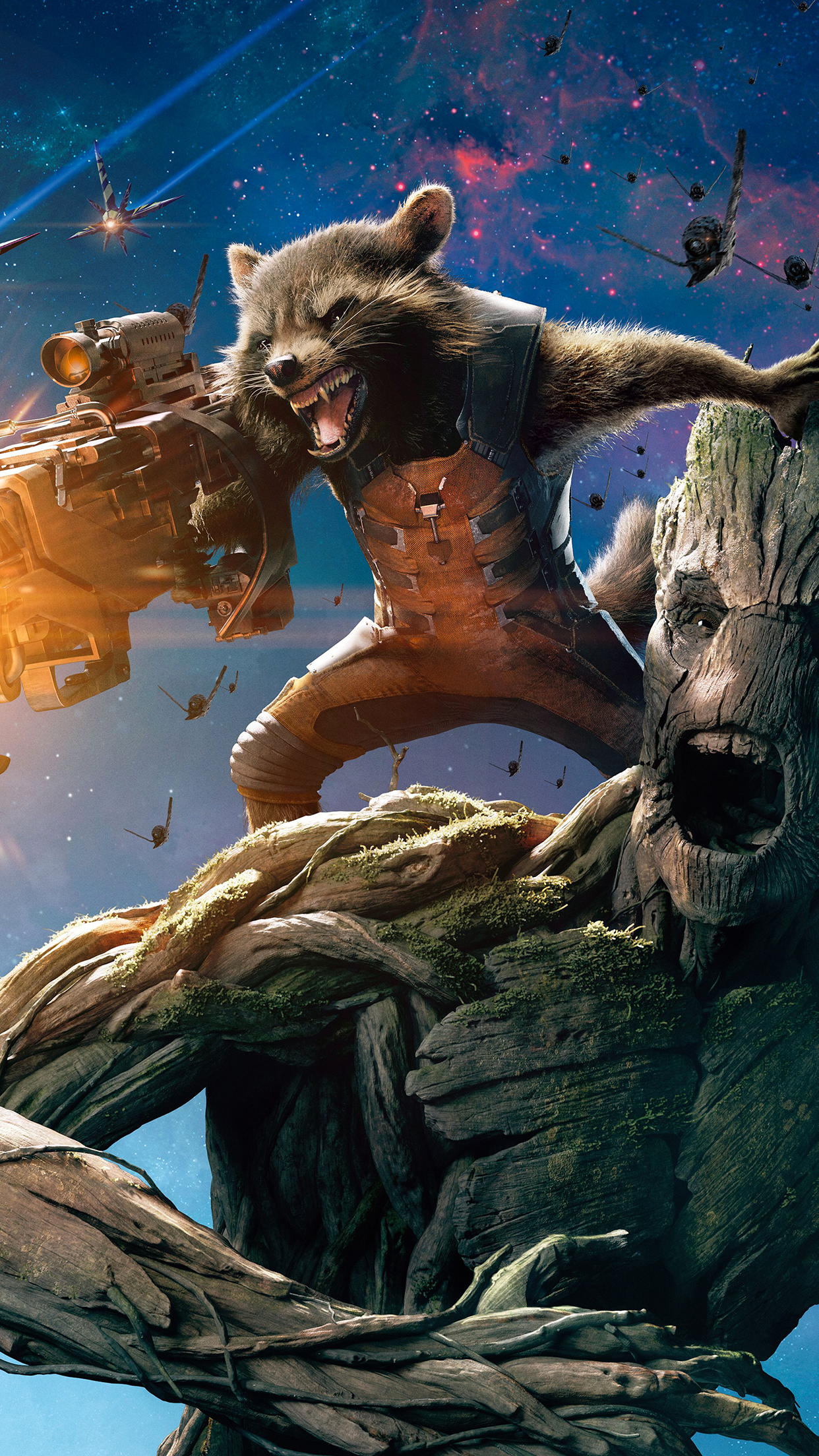 Guardians of Galaxy 3Wallpapers iPhone parallax Guardians of Galaxy