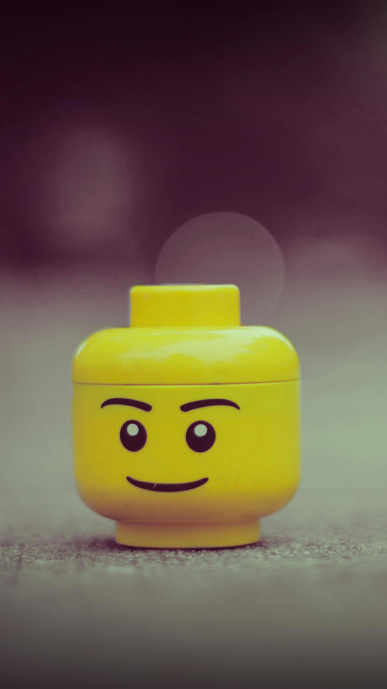 lego head 3wallpapers parallax iPhone Lego head