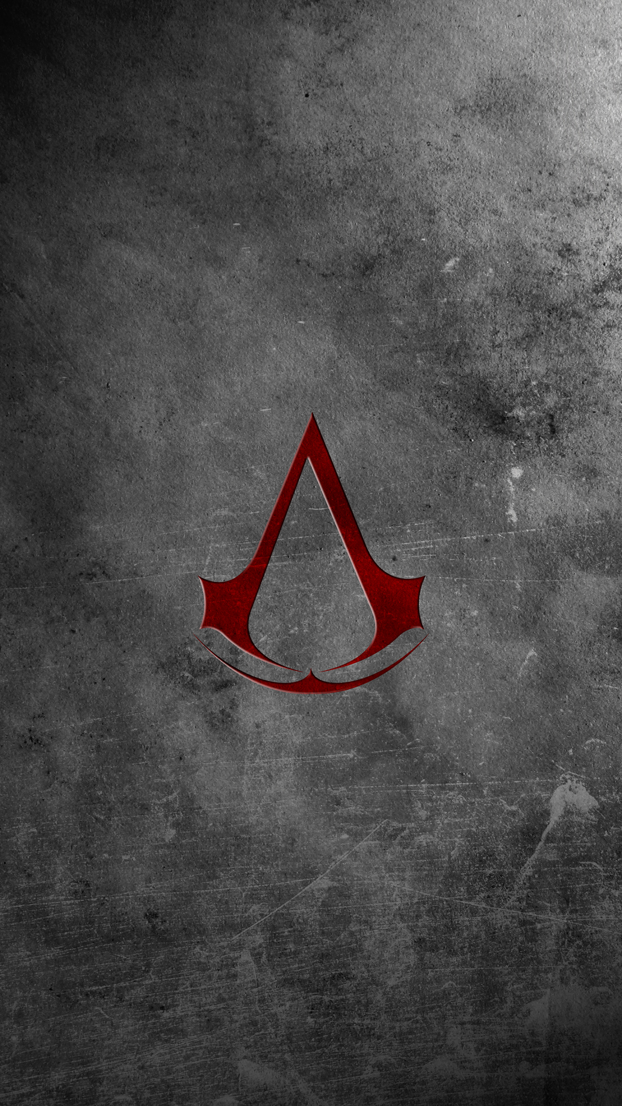 Assassins Creed logo 3Wallpapers iPhone Parallax Les 3 Wallpapers iPhone du jour (16/12/2014)