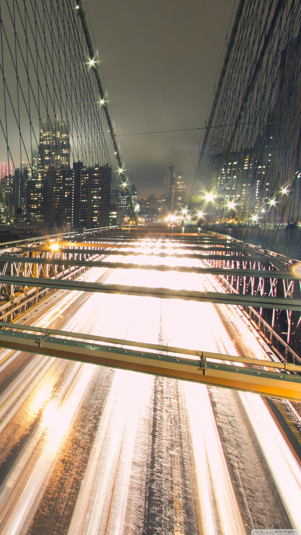 Brooklyn bridge iPhone 3Wallpapers Parallax Brooklyn bridge