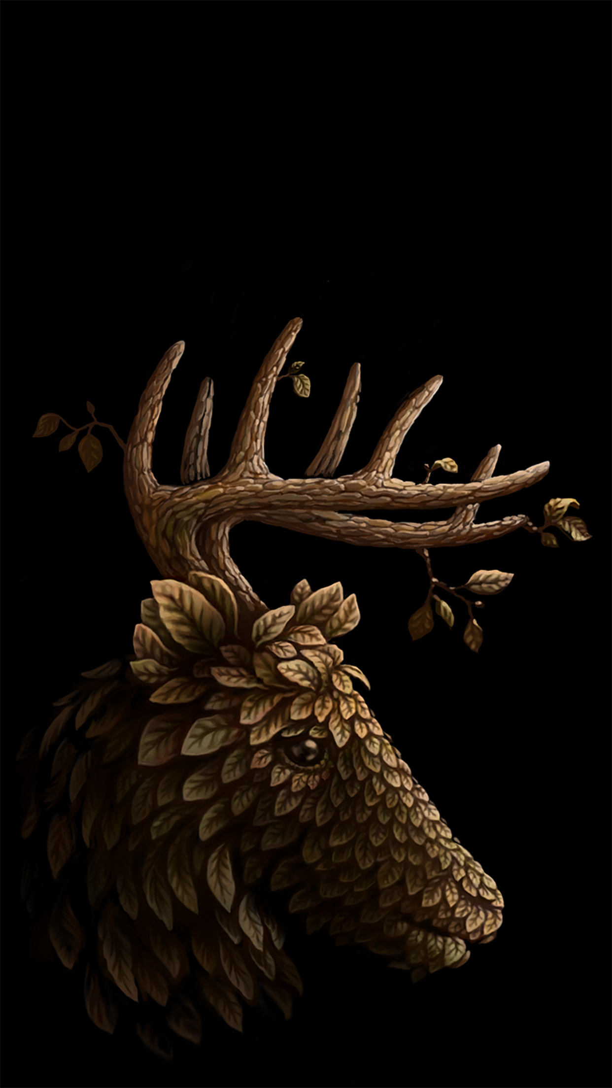deer wallpaper for iphone x 8 7 6 free download on 3wallpapers