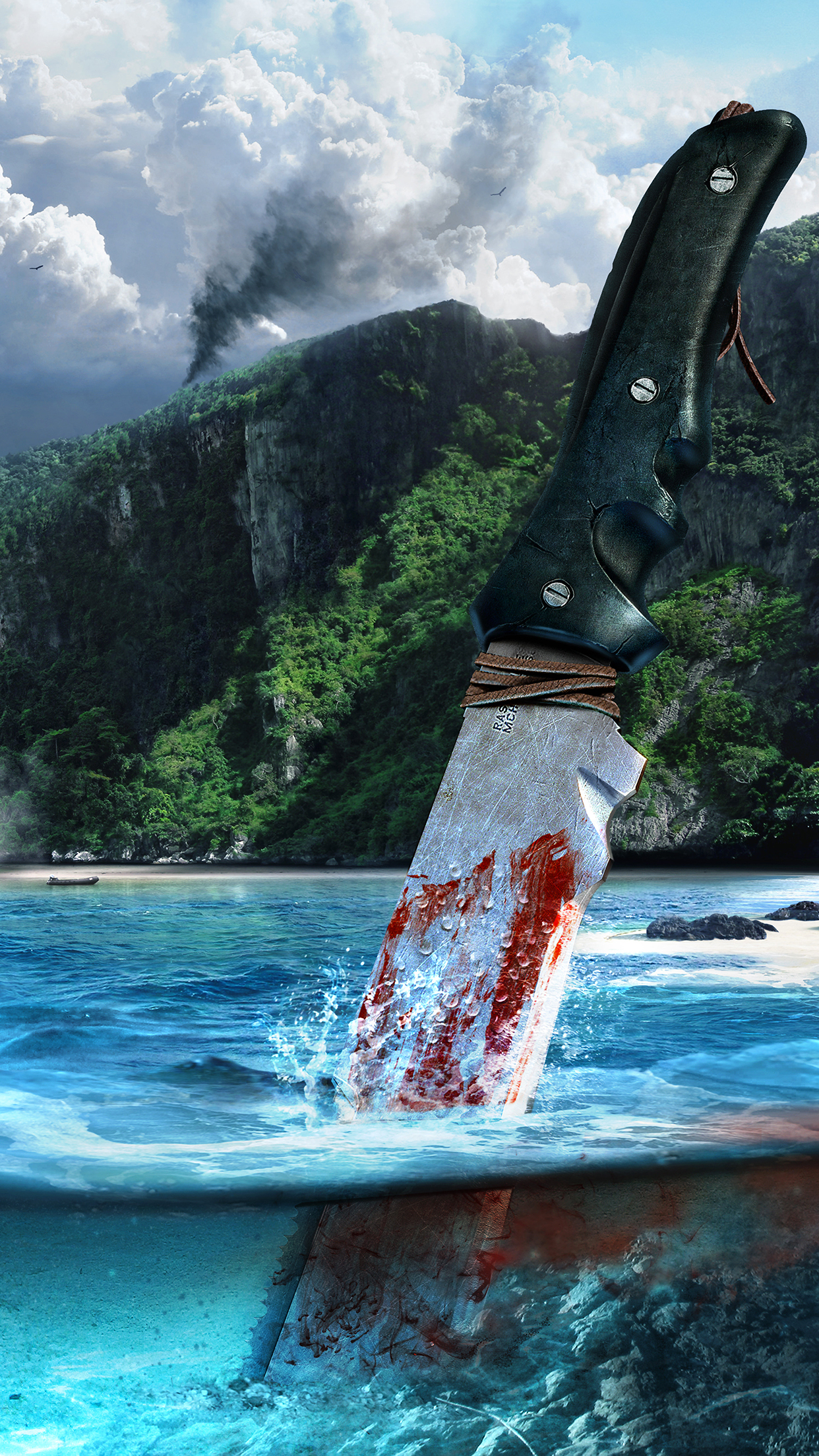 Far Cry 3 iPhone Parallax 3Wallpapers Far Cry 3