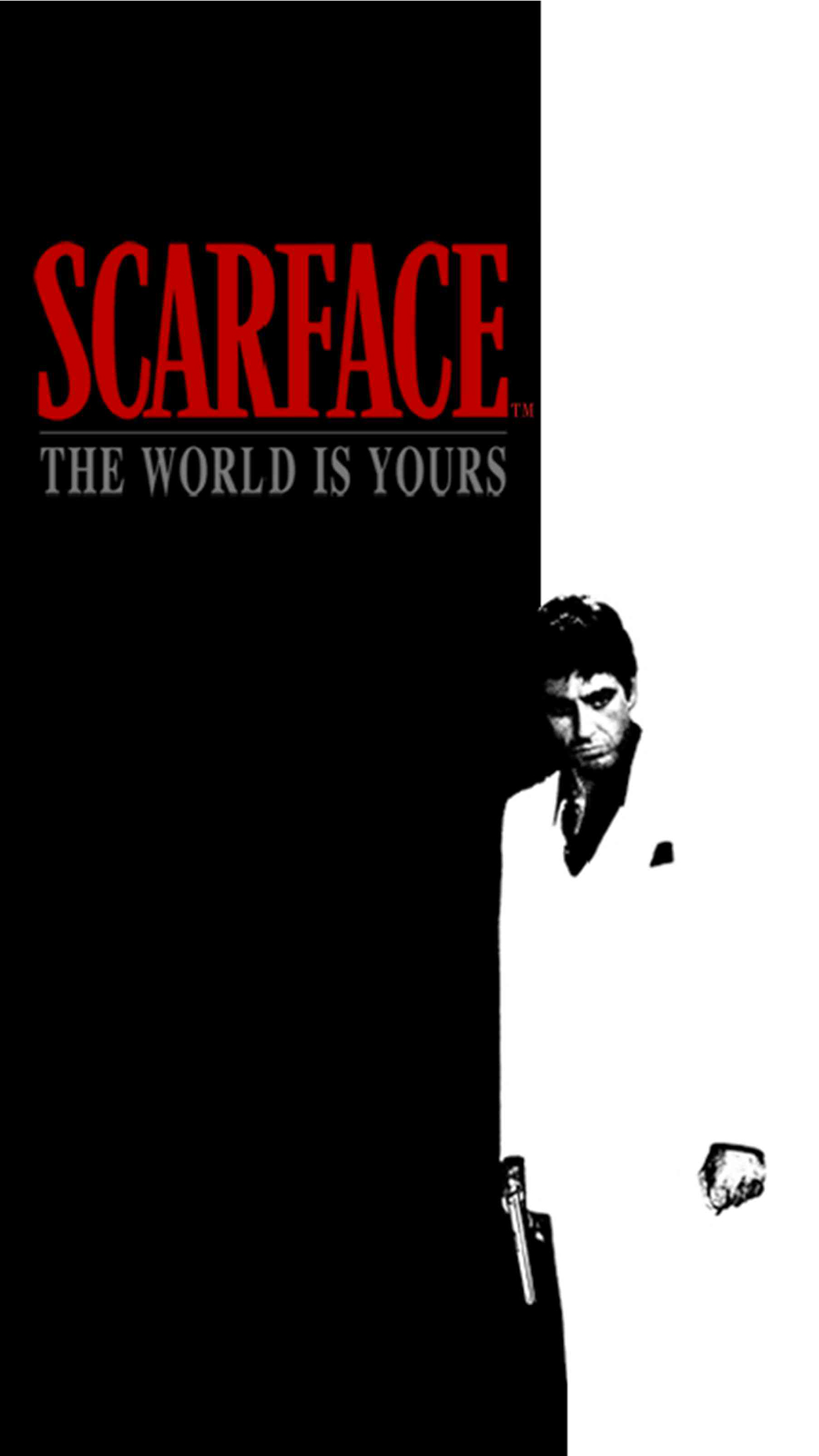 Scarface wallpaper for iphone x 8 7 6 free download - Scarface wallpaper iphone ...