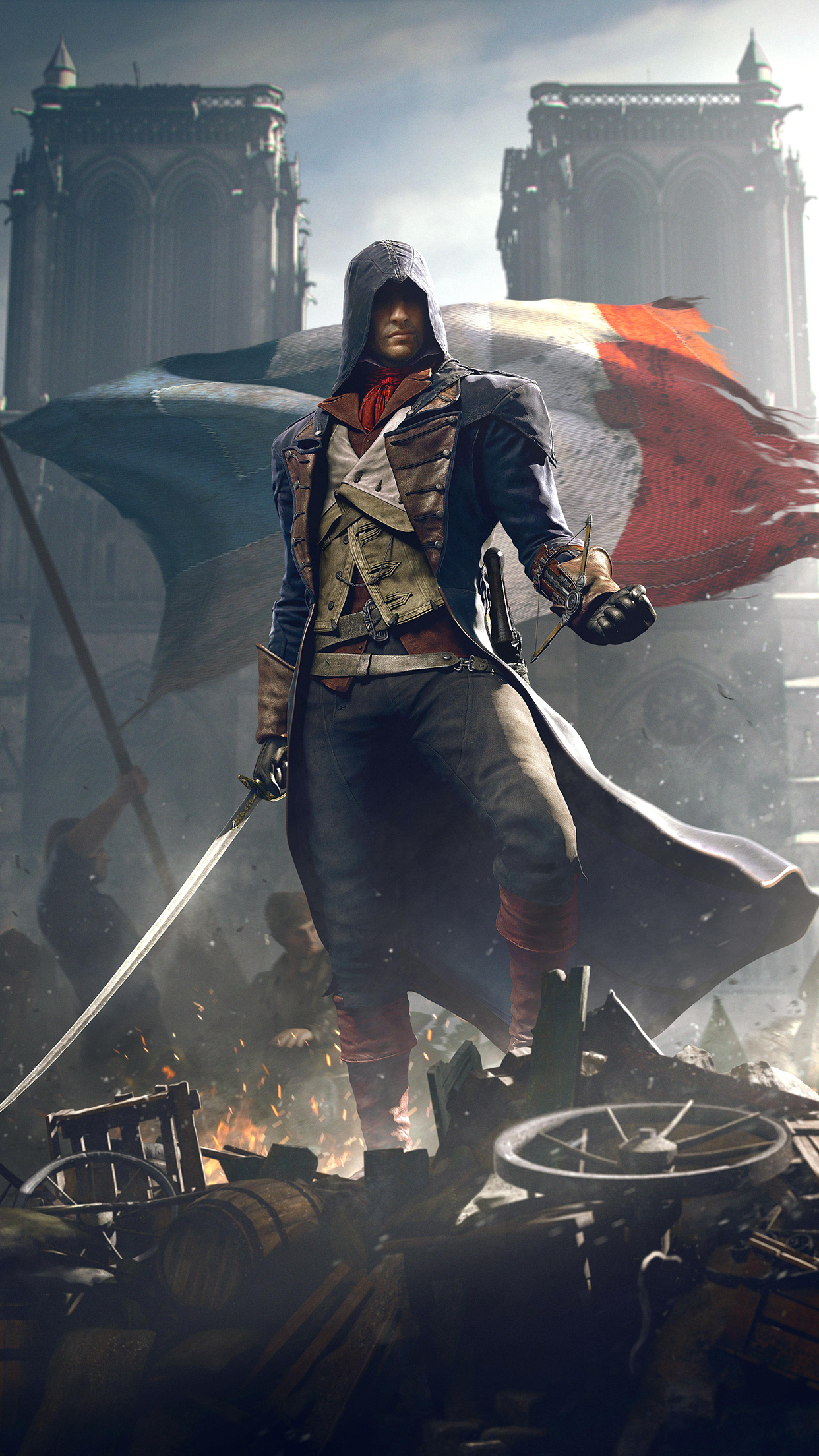 assassins creed unity iPhone 3Wallpapers Parallax Les 3 Wallpapers iPhone du jour (16/12/2014)