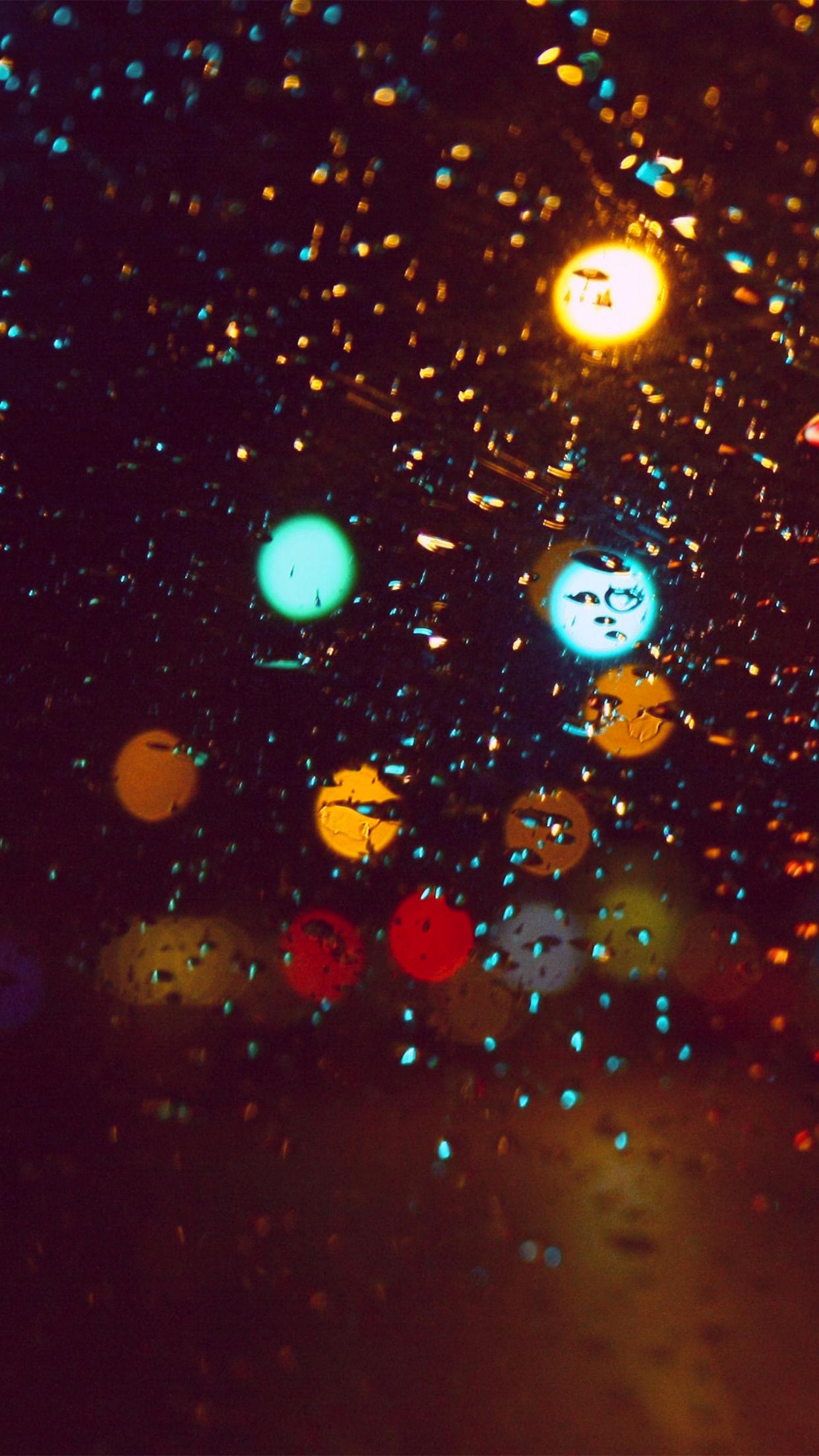 rain light iPhone Parallax 3Wallpapers Rain light