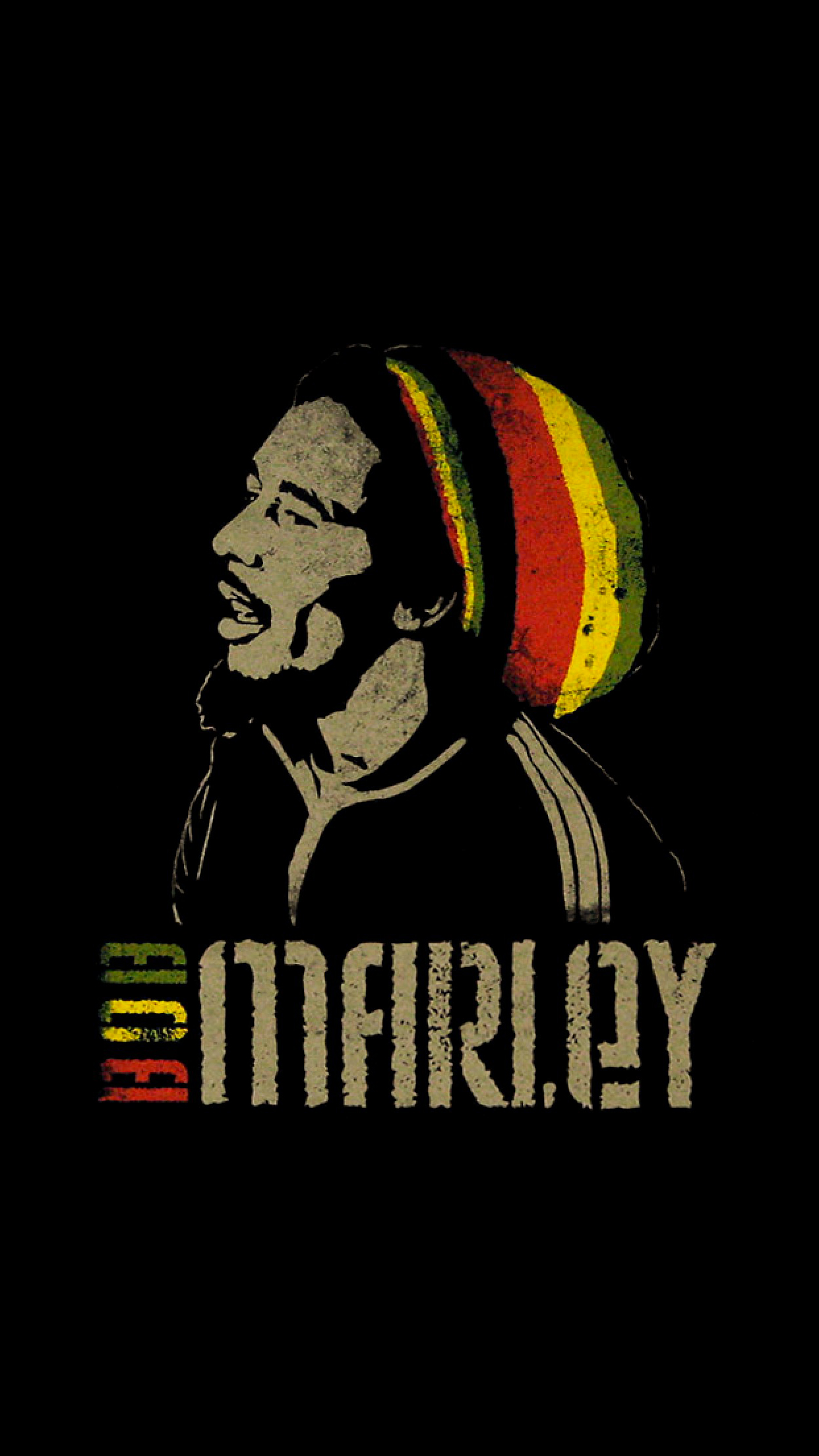 Bob Marley Wallpaper For Iphone X 8 7 6 Free Download