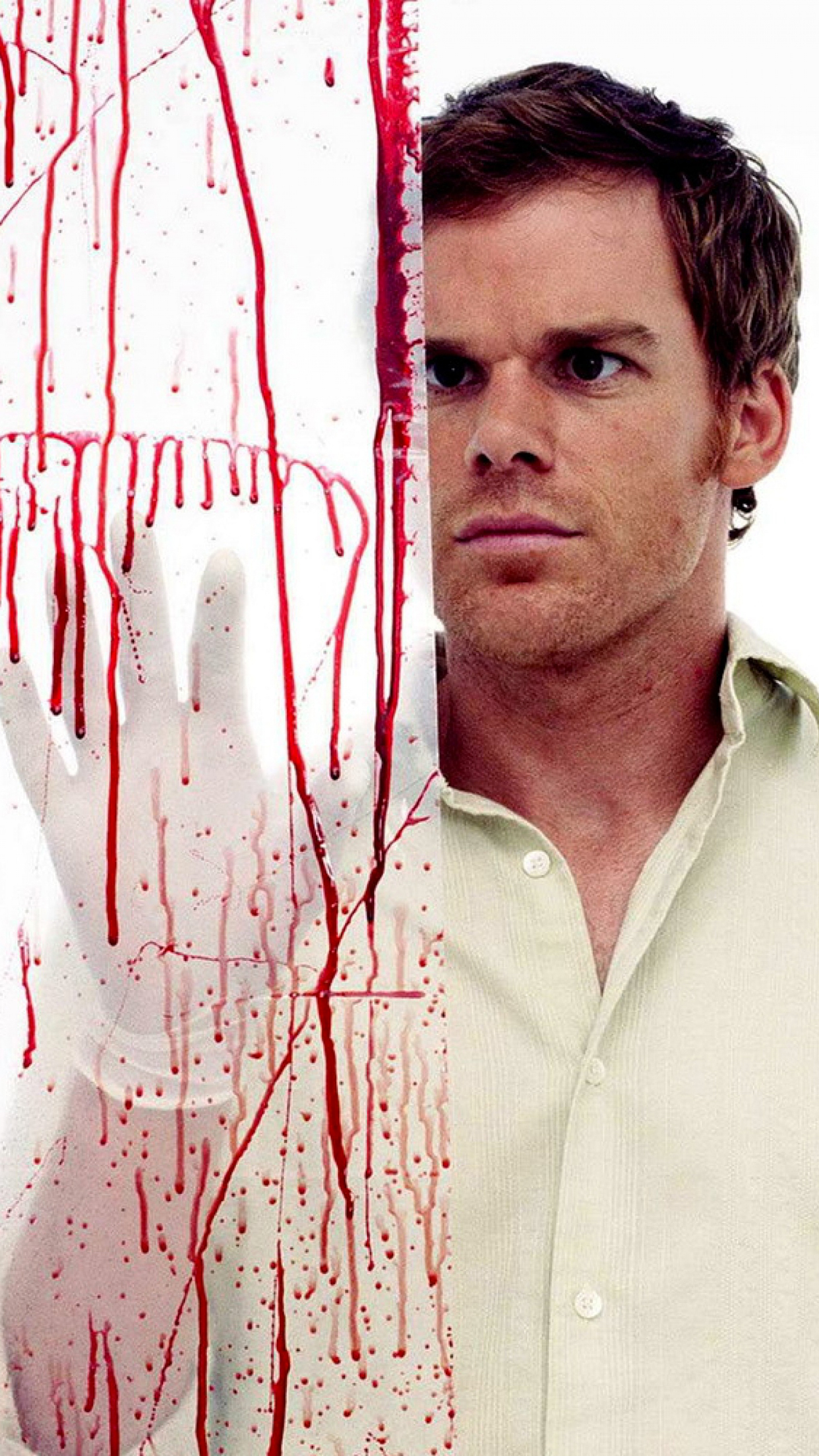 Dexter Blood iPhone 3Wallpapers Parallax Dexter Blood