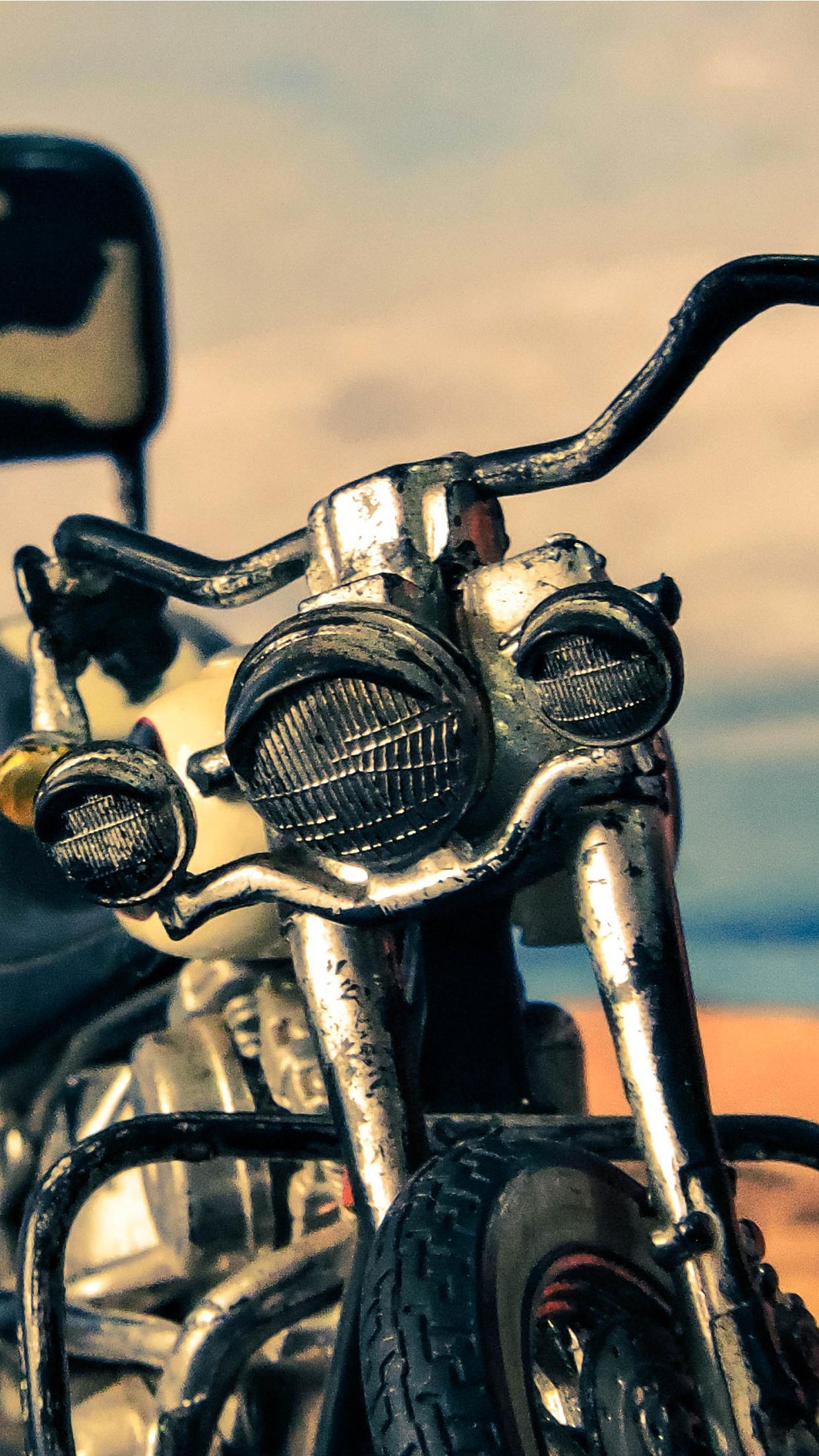 Harley Davidson Heritage iPhone 3Wallpapers Parallax Harley Davidson Heritage