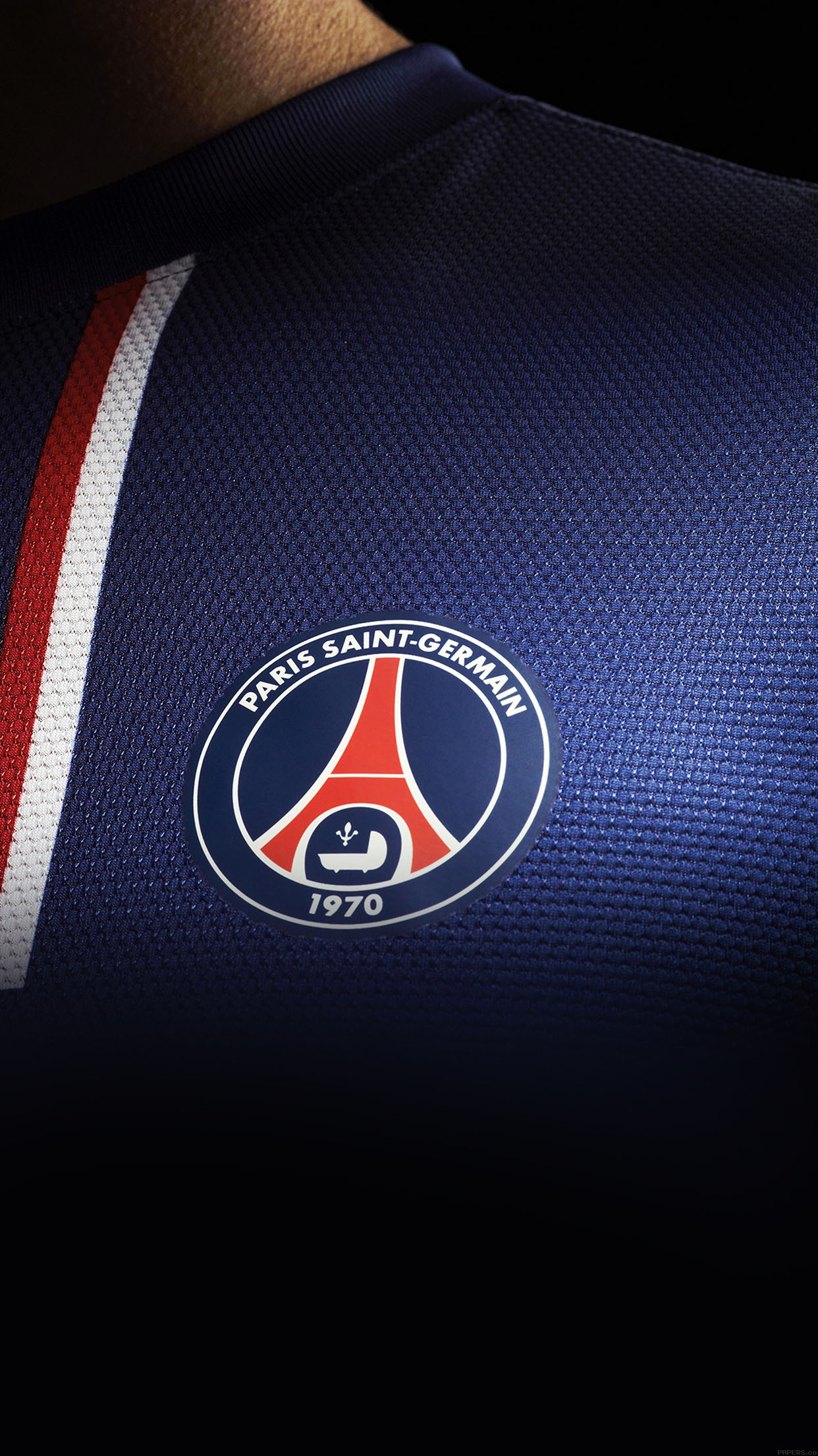 PSG Maillot iPhone 3Wallpapers Parallax PSG Maillot