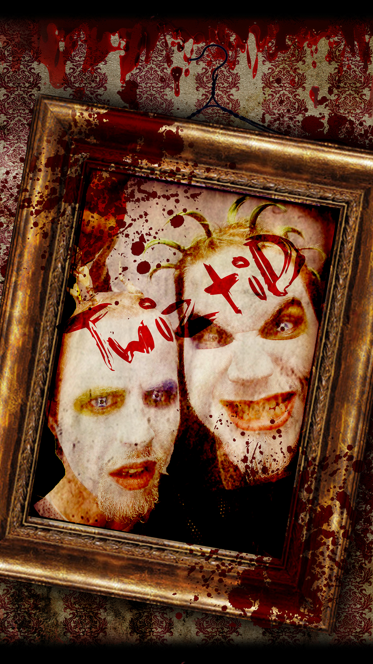 Twiztid Framed iPhone 3Wallpapers Parallax Twiztid Framed
