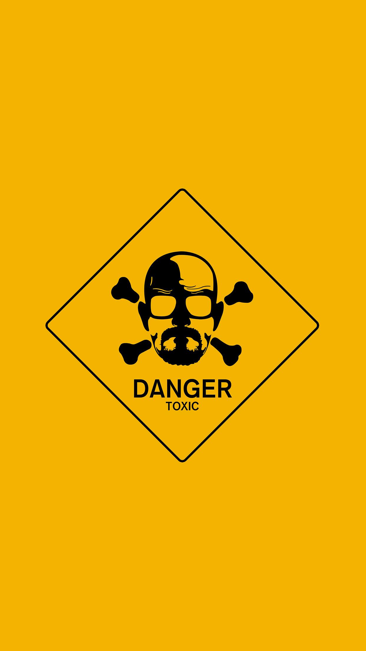 Breaking Bad Toxic 3Wallpapers iPhone Parallax Breaking Bad Toxic