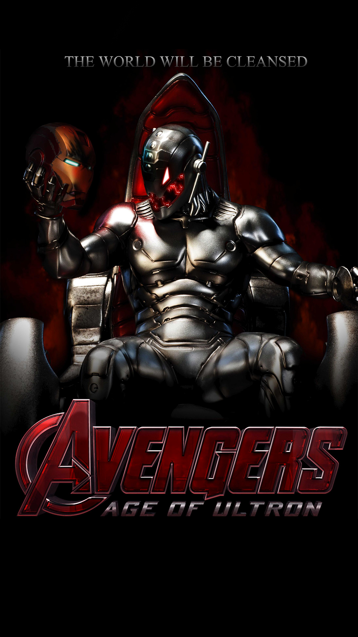 Avengers 2 Poster iPhone 3Wallpapers Parallax Avengers 2 Poster