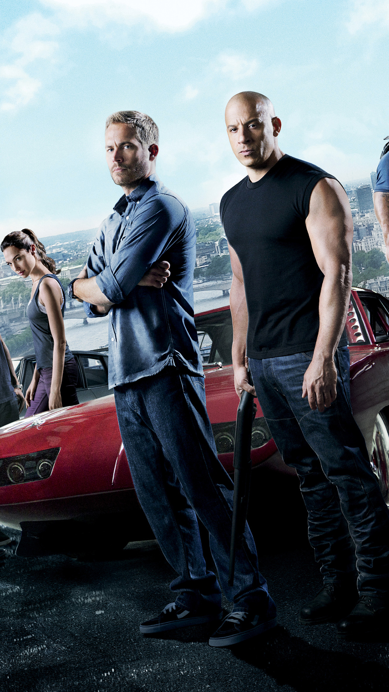 Fast Furious 6 iPhone Parallax 3Wallpapers Fast & Furious 6