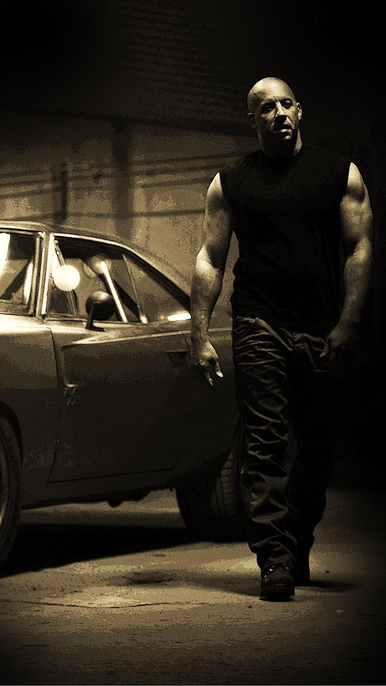 Fast Furious Vin Diesel iPhone Parallax 3Wallpapers Fast & Furious Vin Diesel