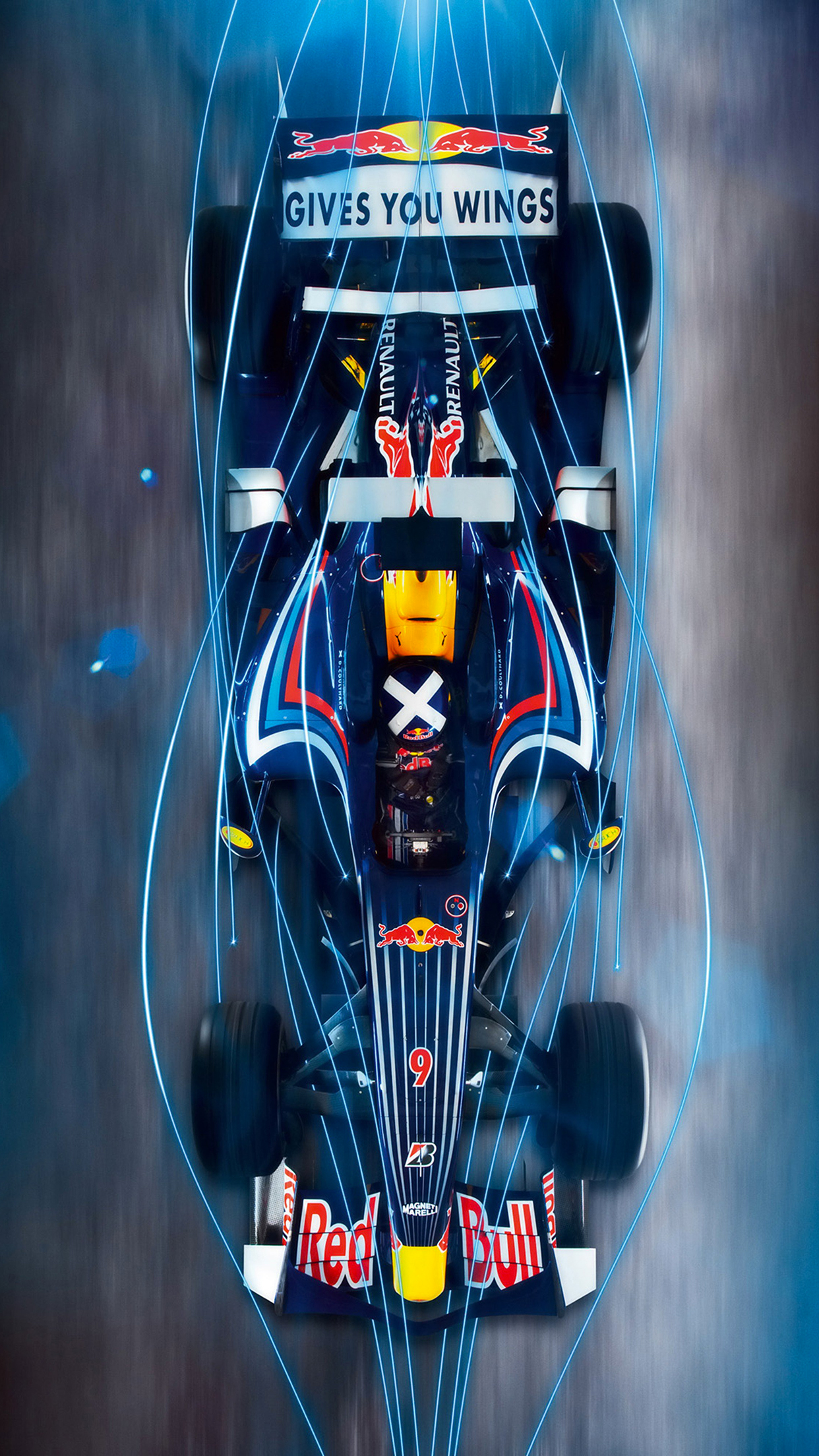 Formula 1 Red Bull iPhone 3Wallpapers Parallax Formula 1 Red Bull