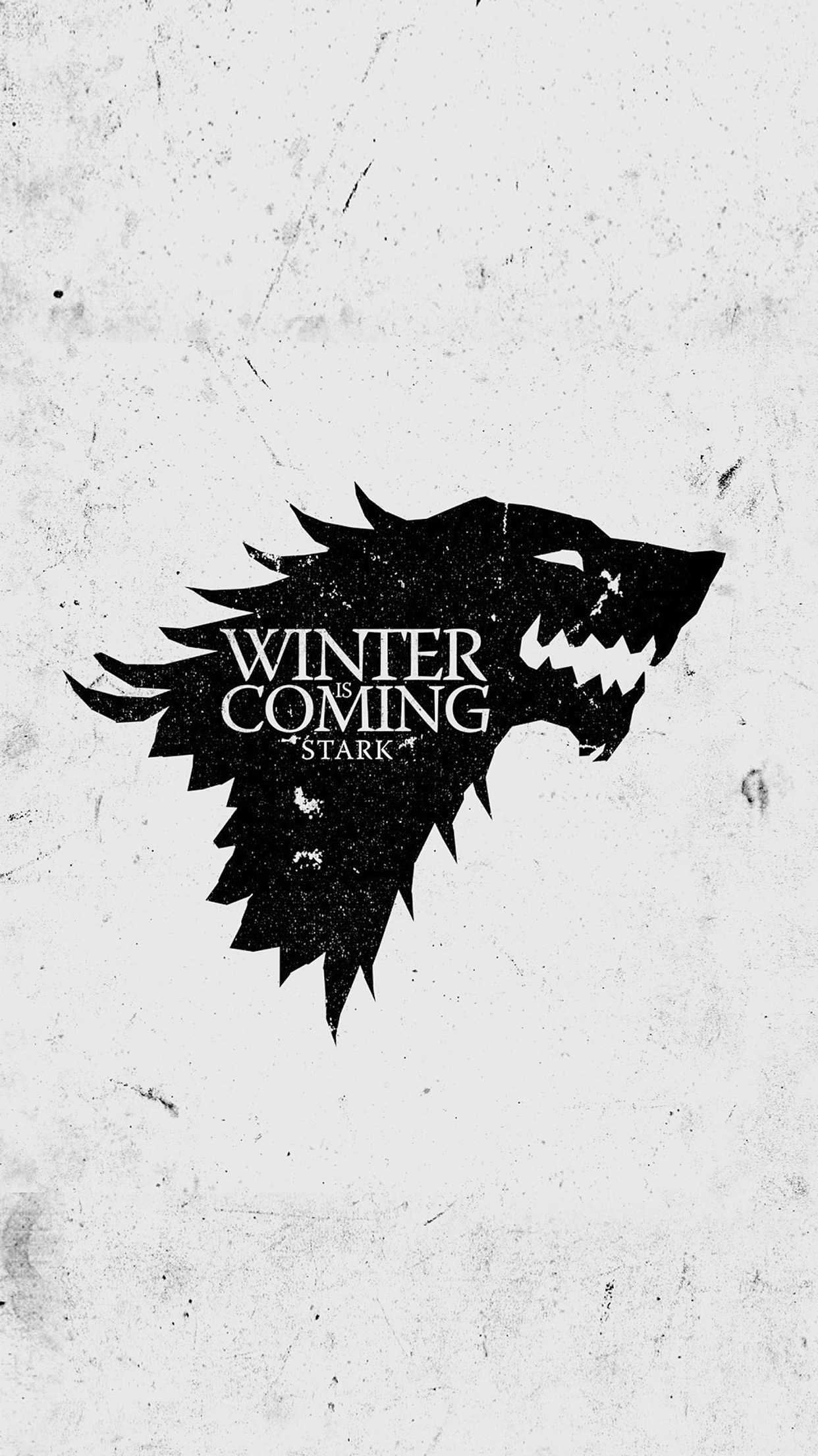 got winter is coming wallpaper for iphone x 8 7 6 free download
