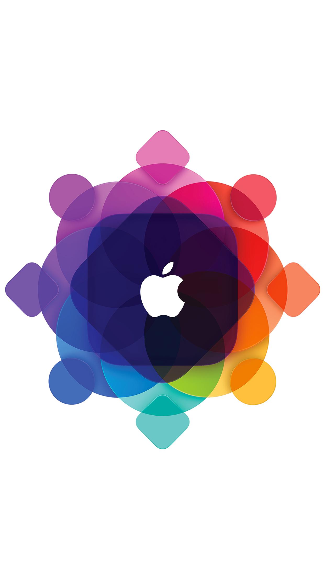 WWDC15 Logo iPhone 3Wallpapers Parallax WWDC15 Logo