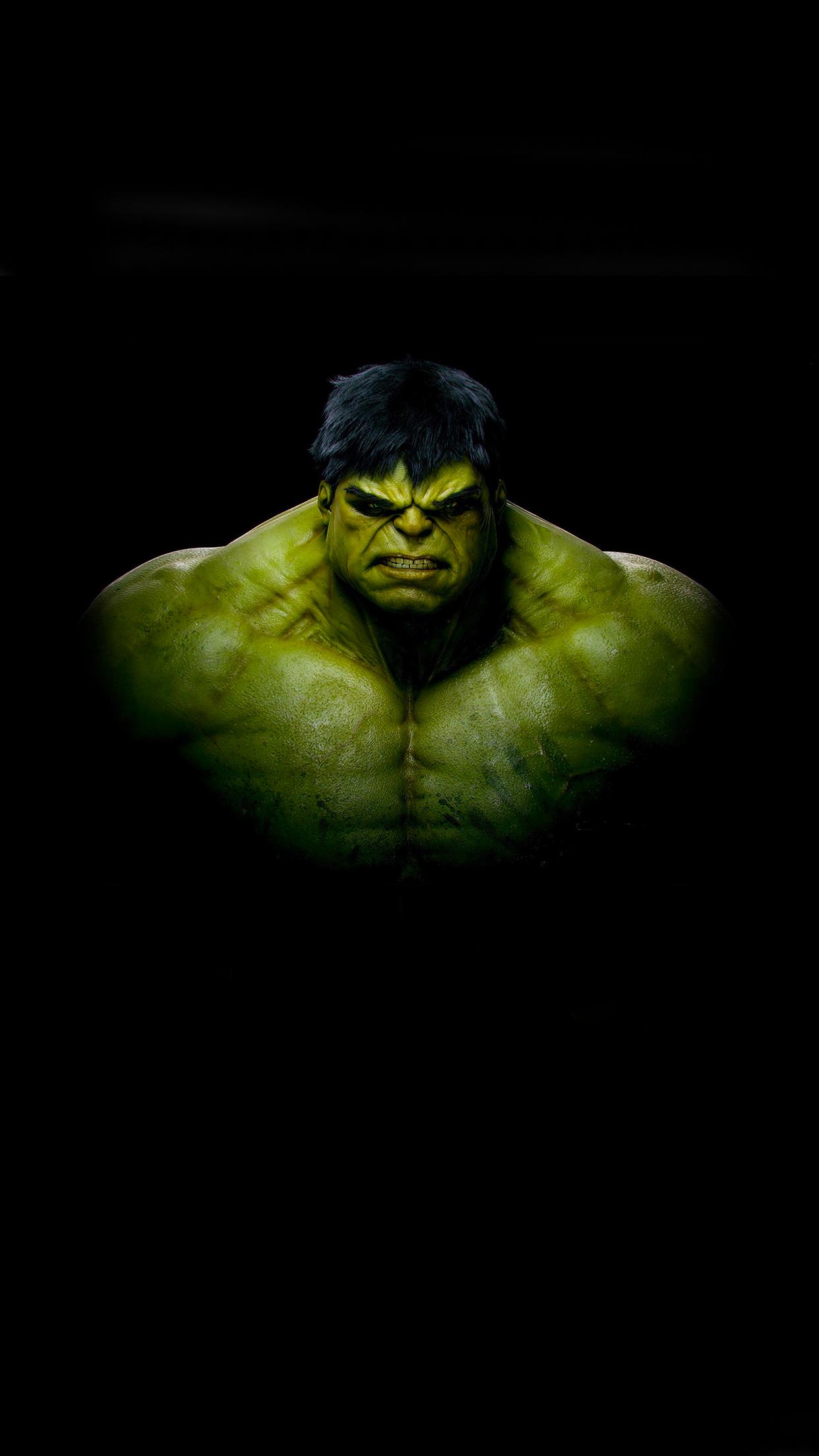 hulk black wallpaper for iphone x 8 7 6 free download