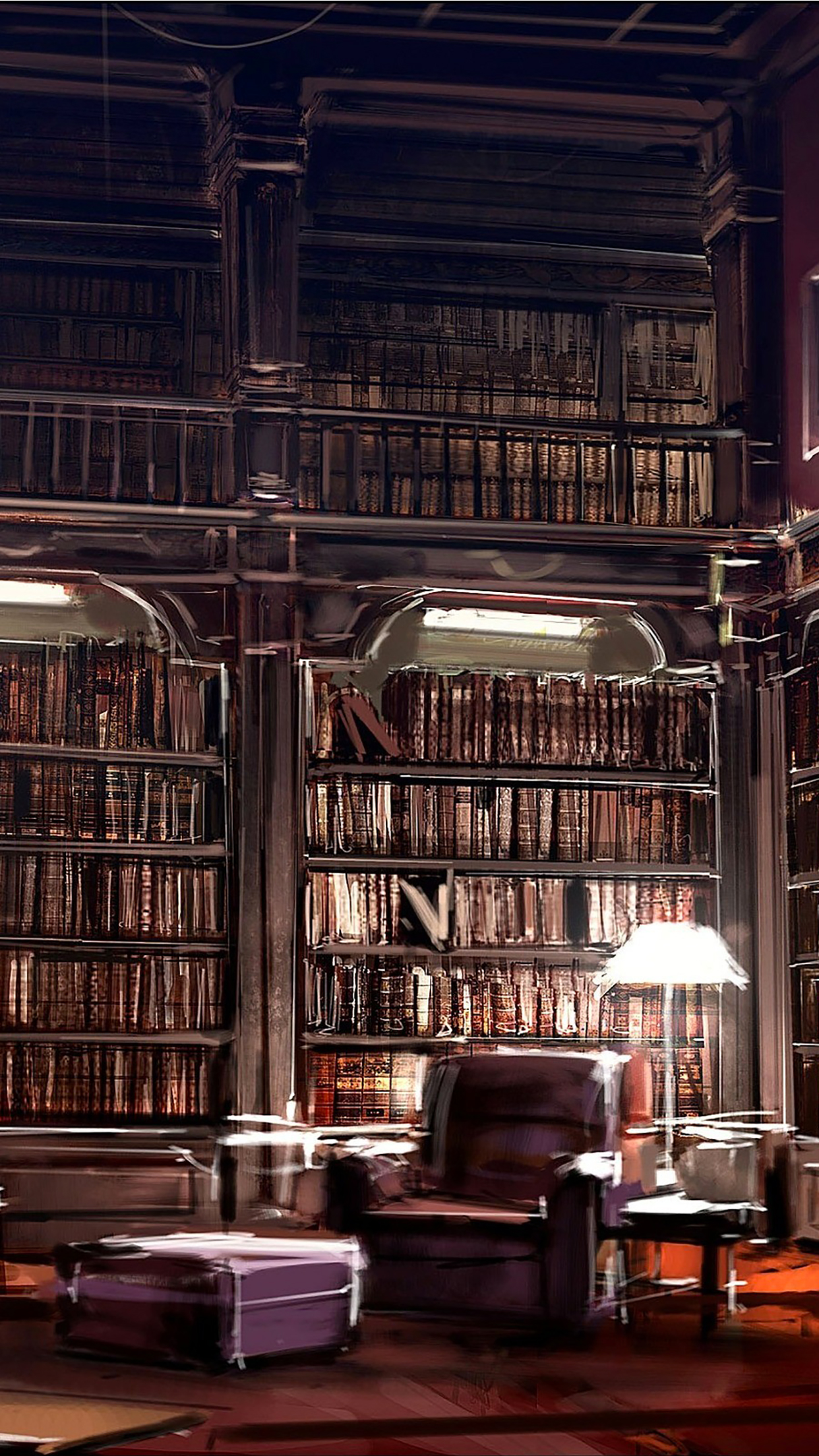 Library Big iPhone 3Wallpapers Parallax Library Big