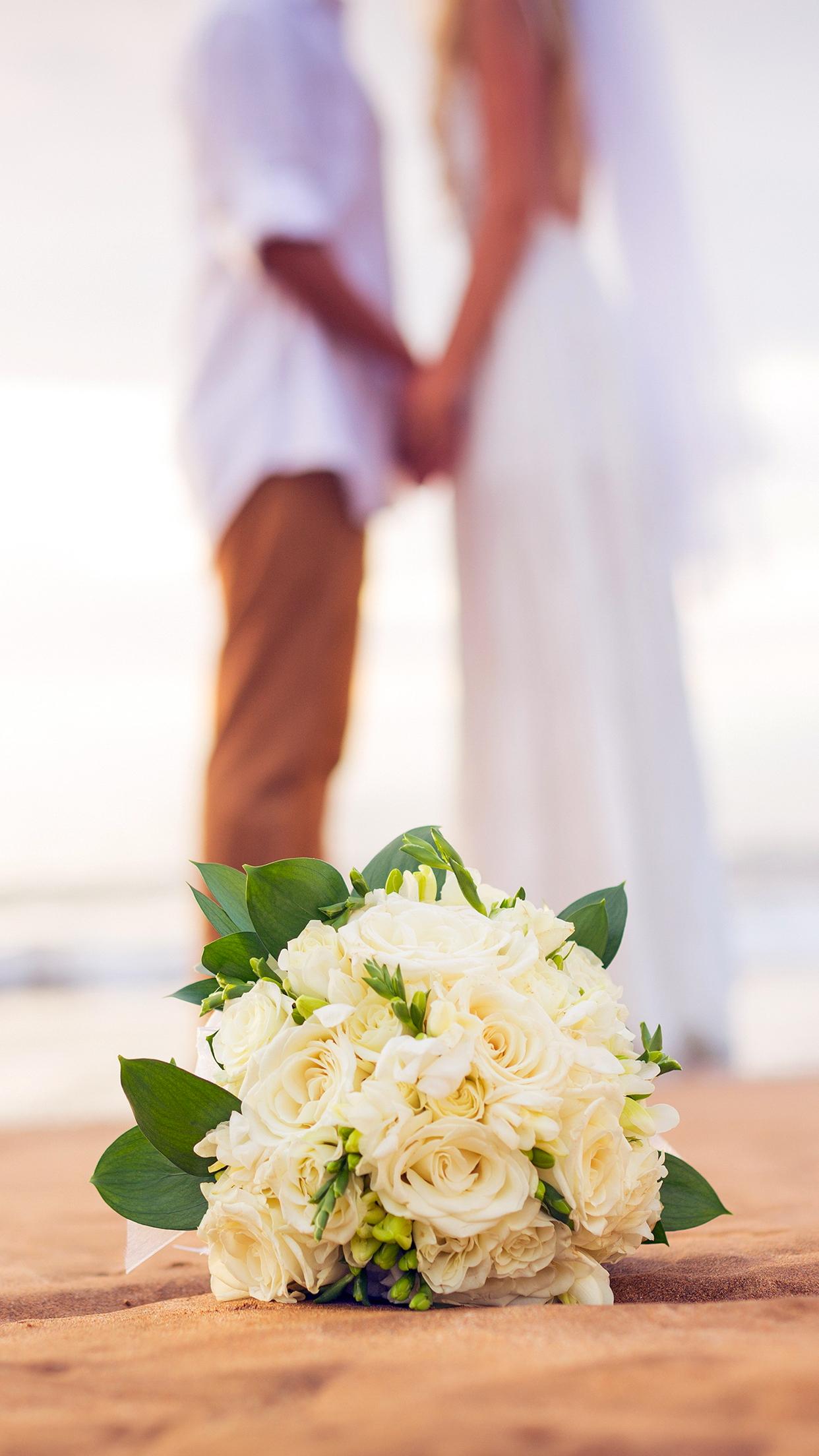 Wedding couple 3Wallpapers iPhone Parallax Wedding Couple