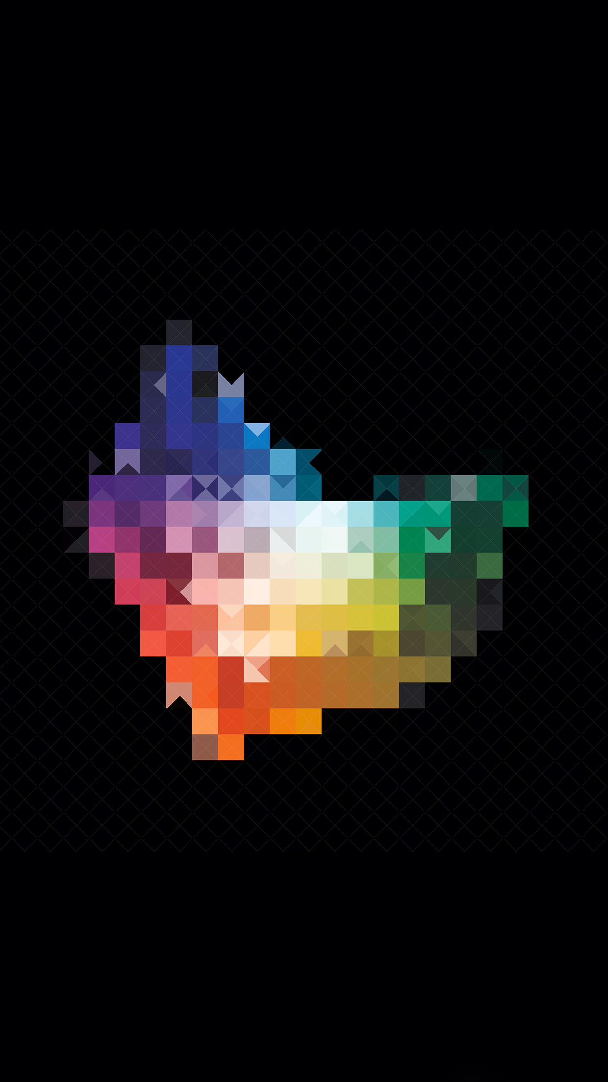 Abstract iPhone 3Wallpapers Parallax Les 3 Wallpapers iPhone du jour (03/06/2015)