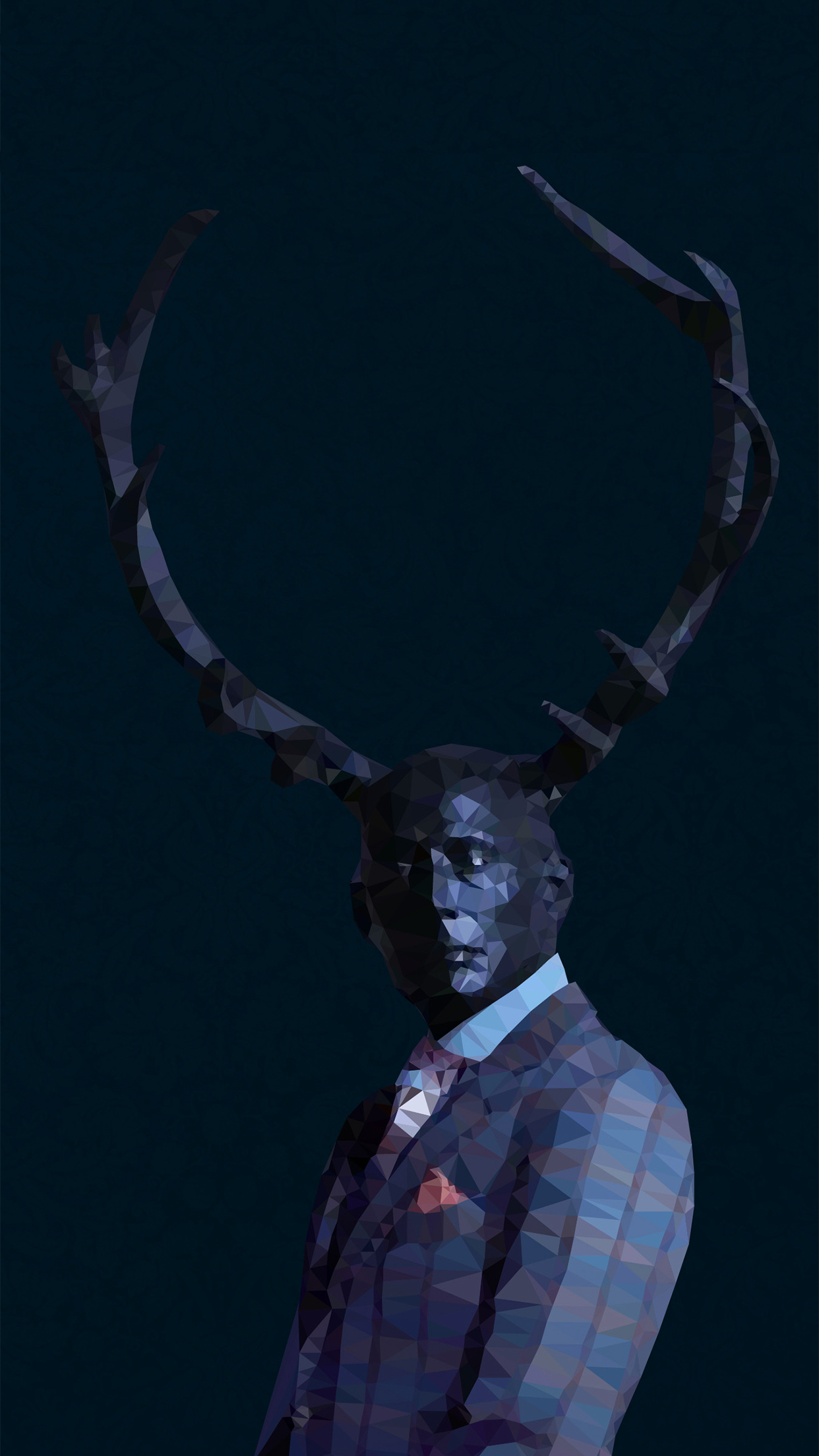 Hannibal Art iPhone 3Wallpapers Parallax  Hannibal Art
