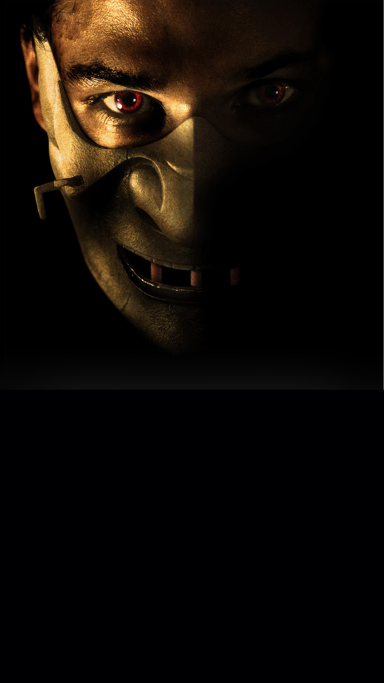 Hannibal Mask iPhone 3Wallpapers Parallax  Hannibal Mask