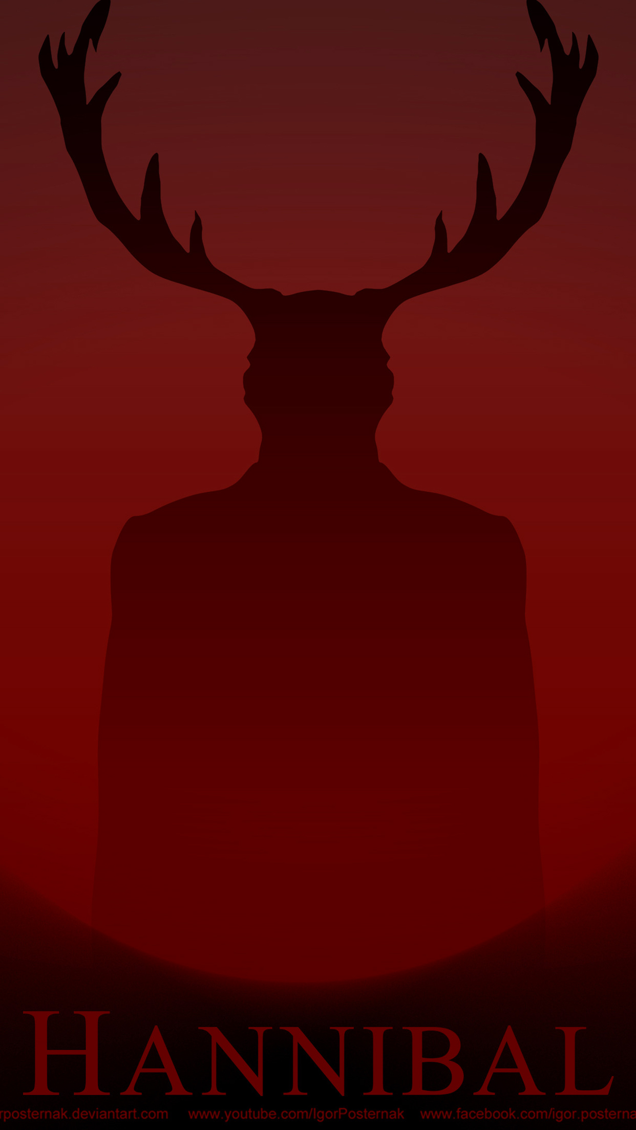 Hannibal Poster iPhone 3Wallpapers Parallax  Les 3 Wallpapers iPhone du jour (05/06/2015)