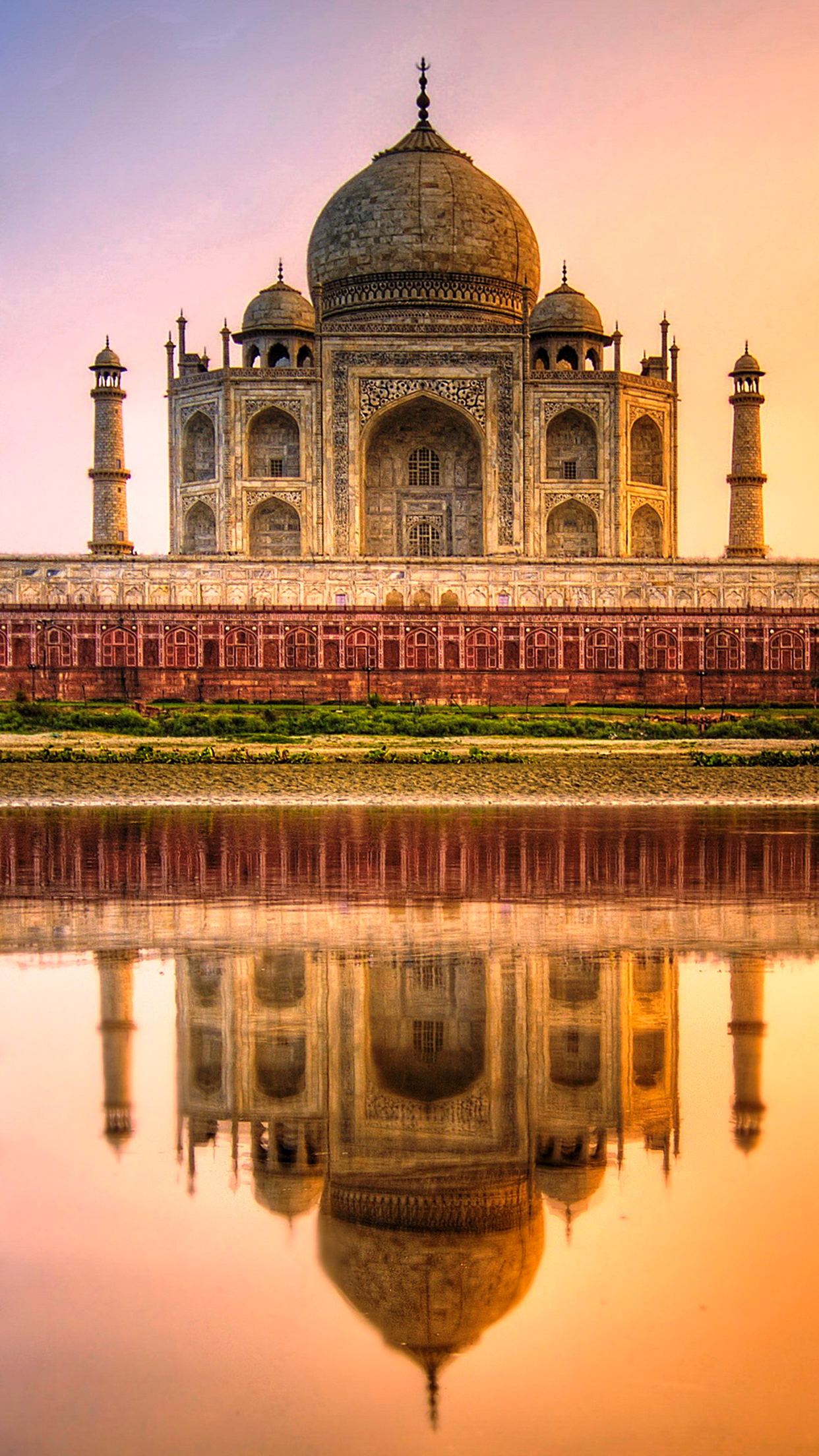 India taj mahal iPhone 3Wallpapers Parallax Les 3 Wallpapers iPhone du jour (18/06/2015)