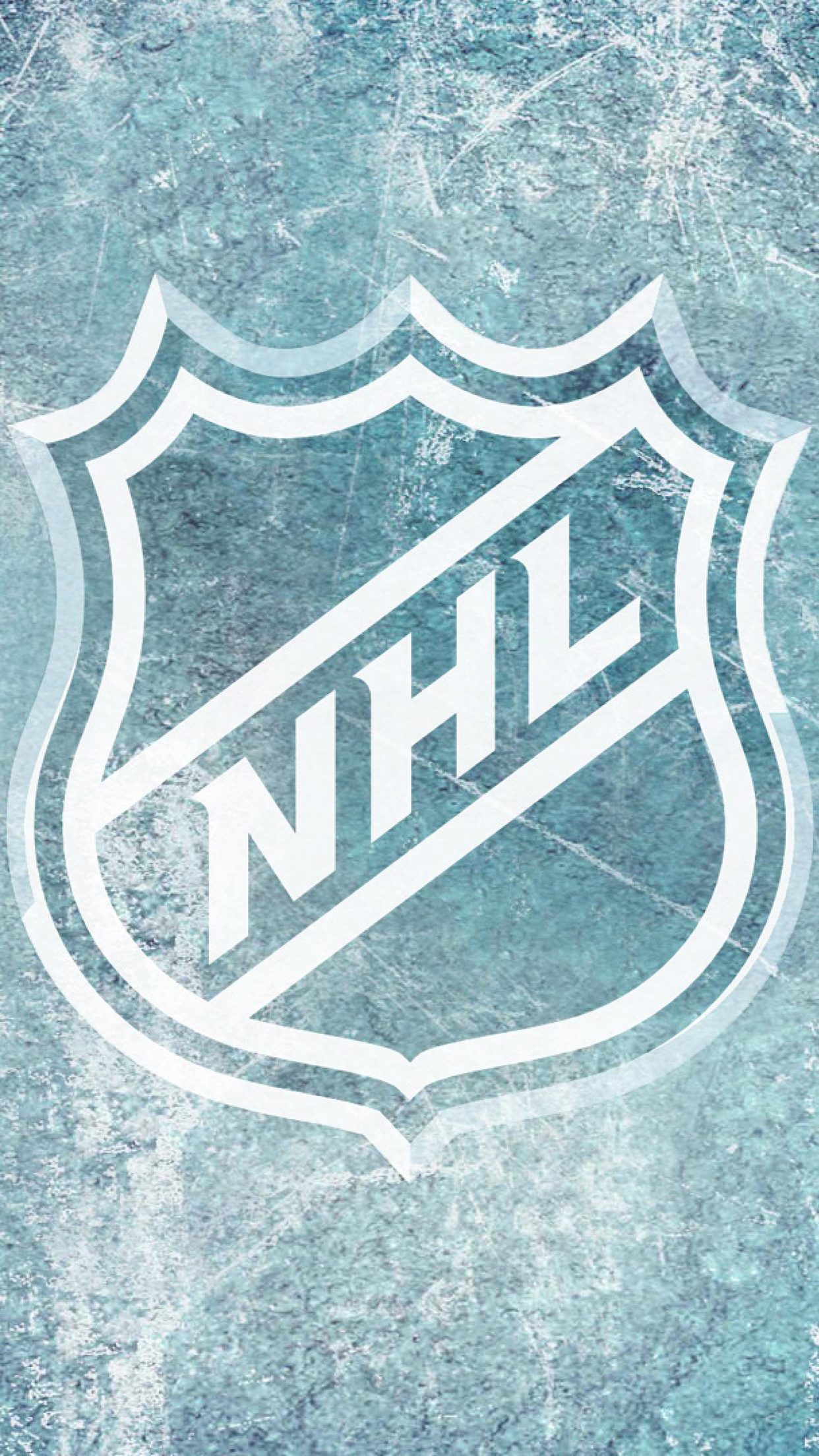 NHL Logo iPhone 3Wallpapers Parallax NHL Logo
