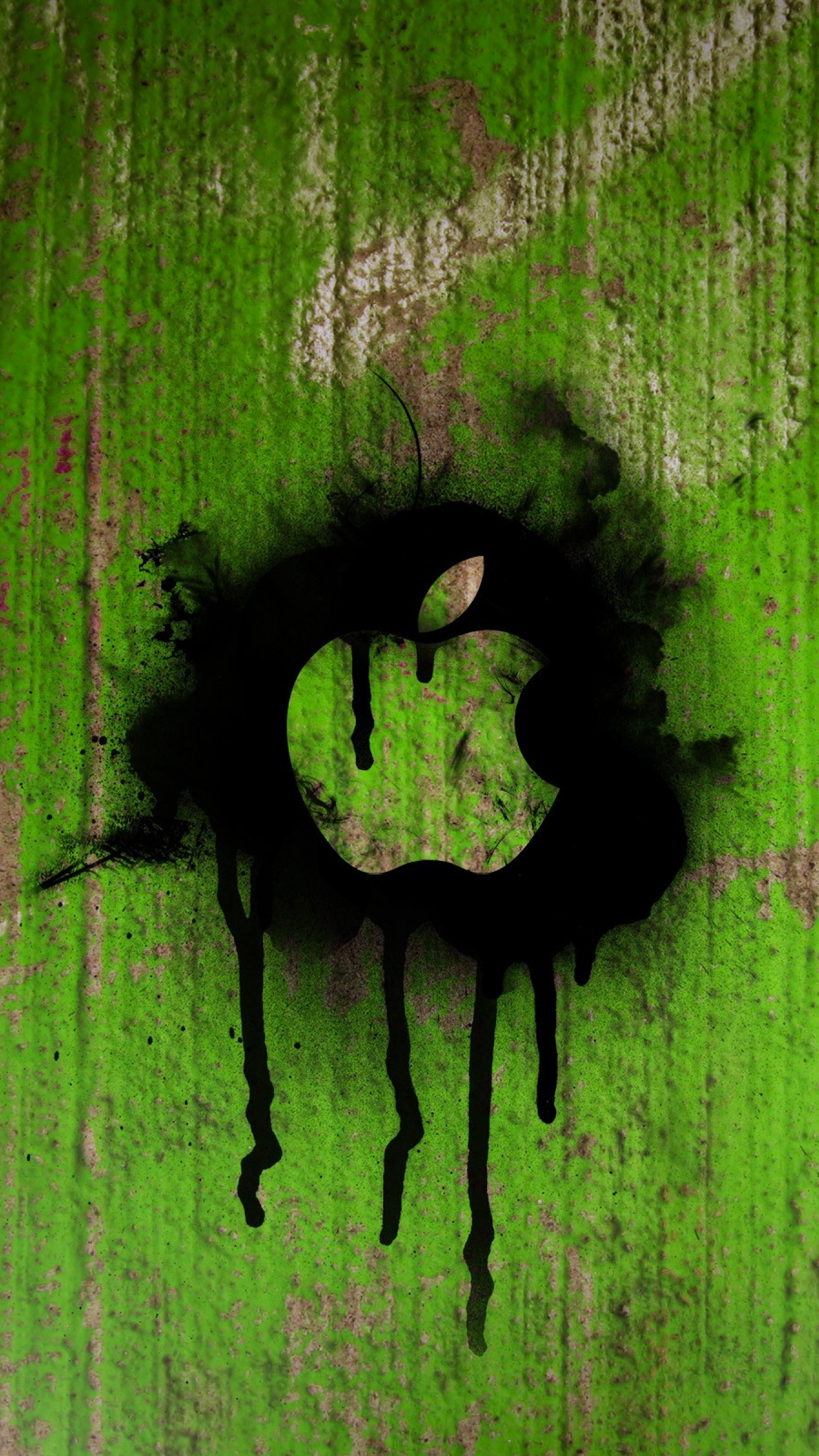 Apple Green iPhone 3Wallpapers Parallax Apple Green