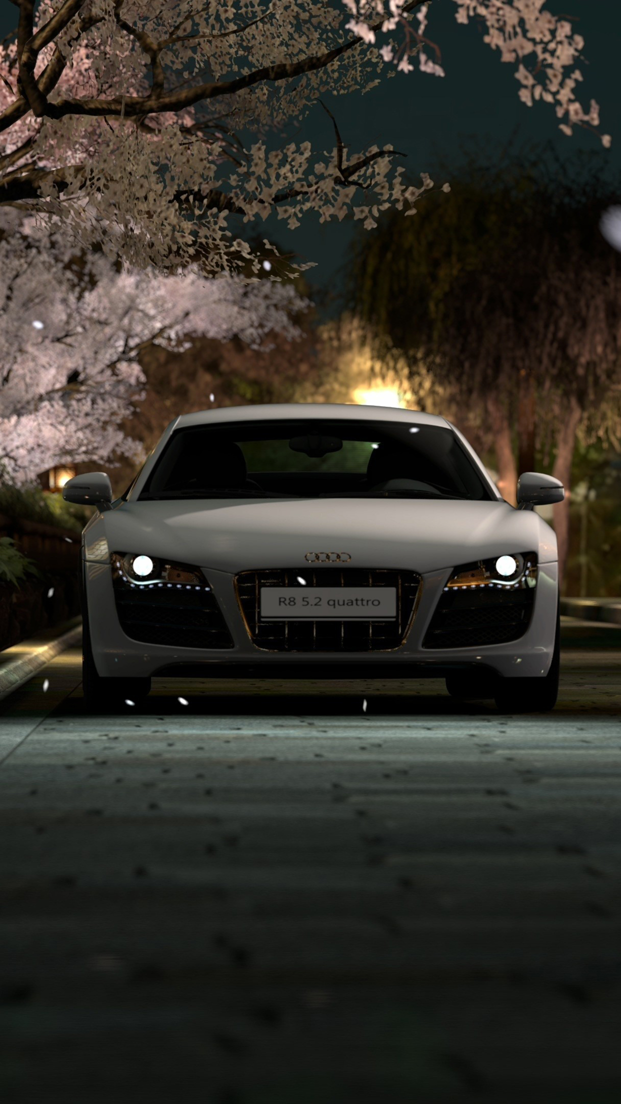 Audi R8 iPhone 3Wallpapers Parallax Audi R8