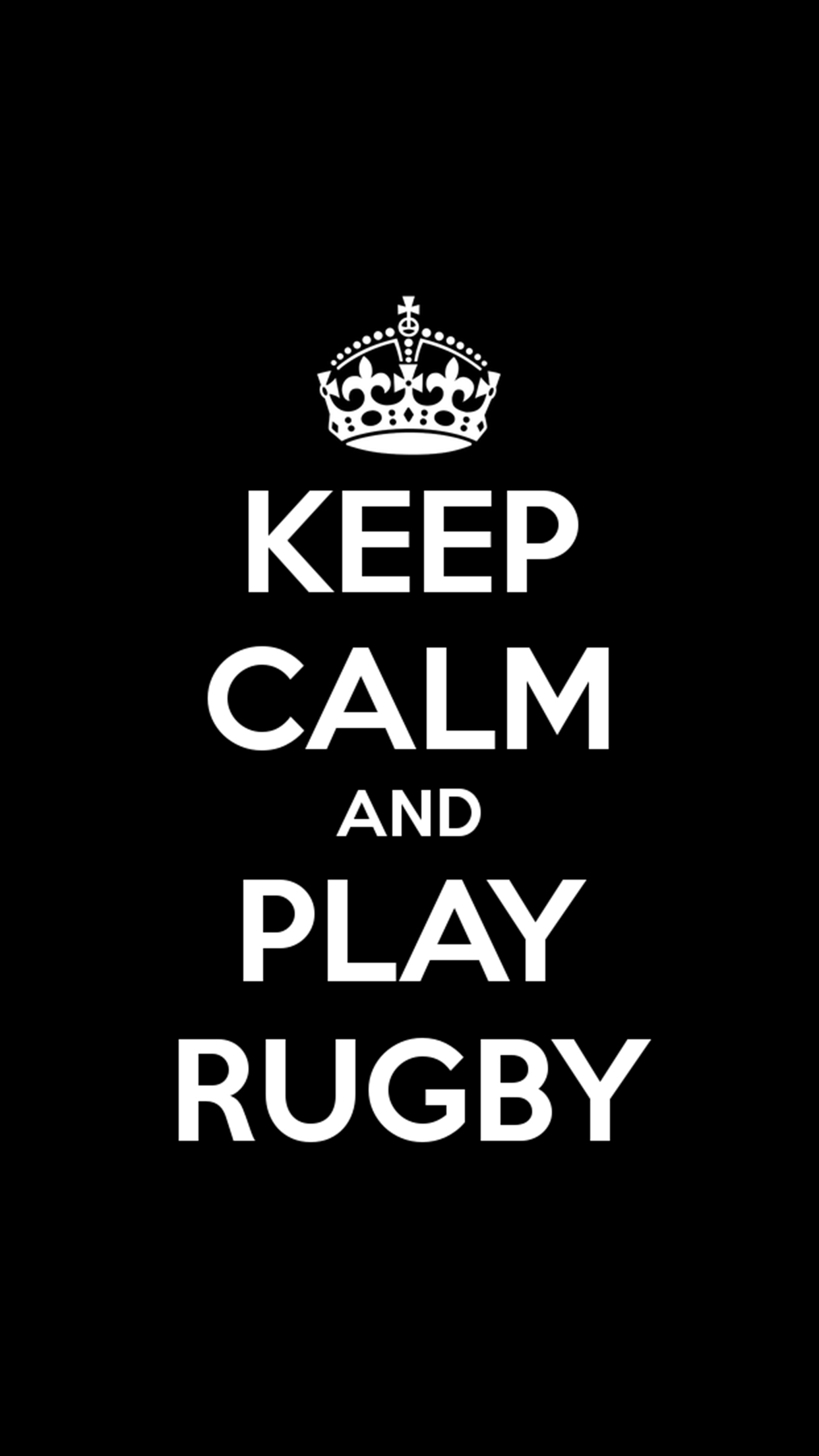 Rugby Keep Calm Wallpaper For Iphone X 8 7 6 Free