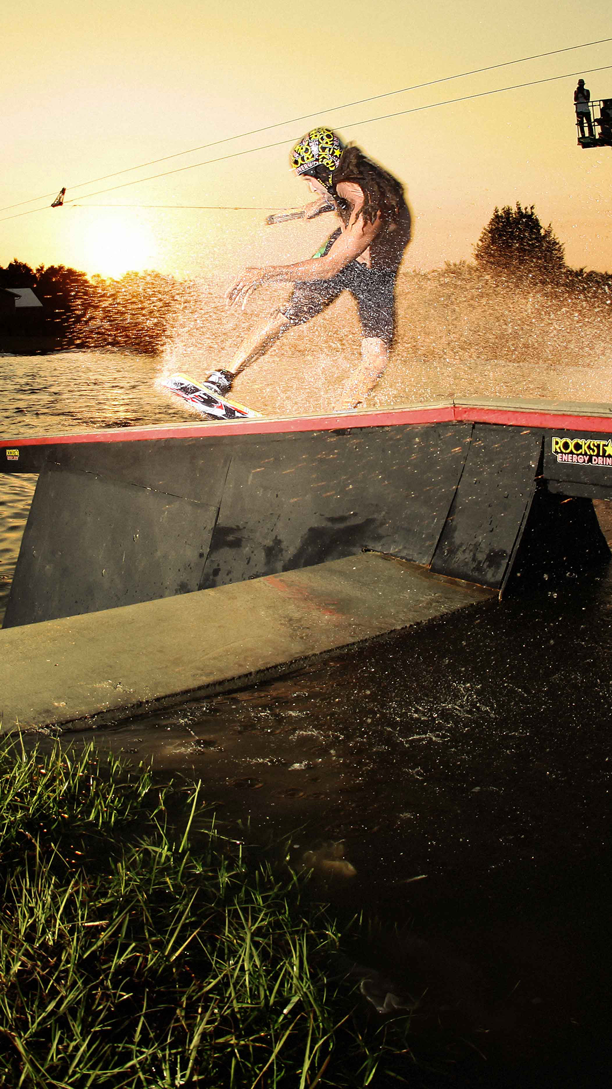 Wakeboard Dave Crawford 3Wallpapers iPhone Parallax Les 3 Wallpapers iPhone du jour (16/07/2015)