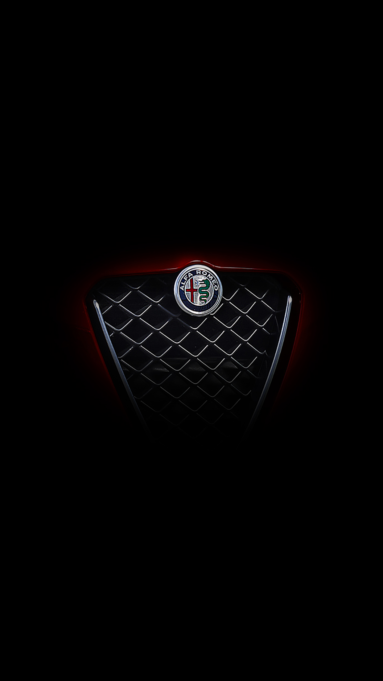 Alfa romeo logo black and white 8