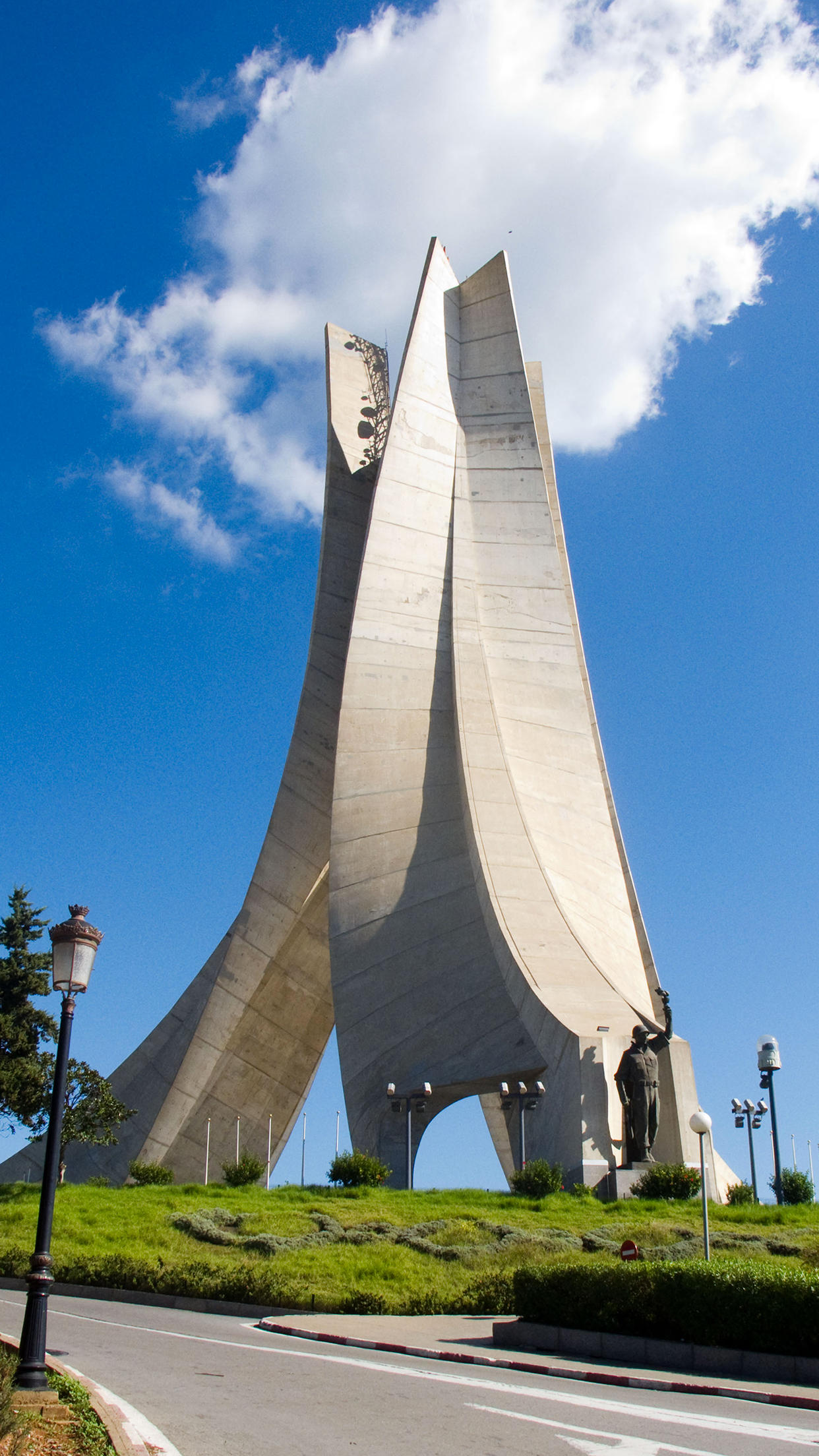 Fond D Écran Algerie alger memorial wallpaper for iphone x, 8, 7, 6 - free download on