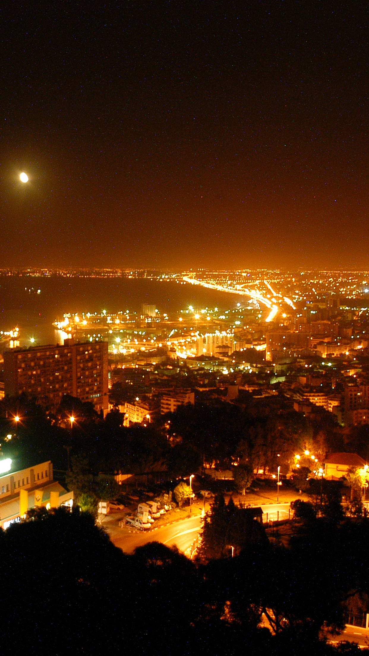 Alger Night 3Wallpapers iPhone Parallax Alger Night