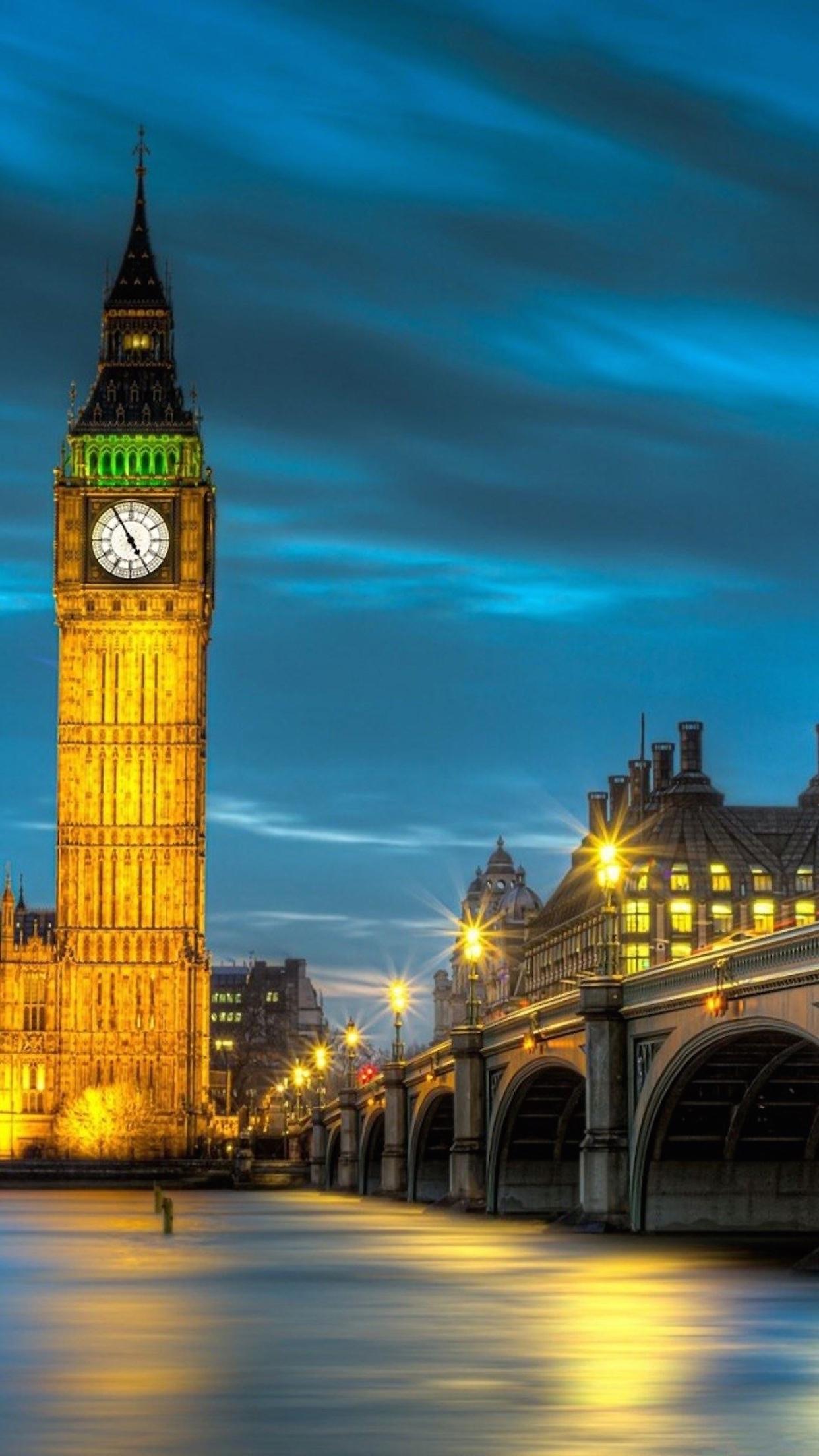 London Big Ben Wallpaper For Iphone X 8 7 6 Free